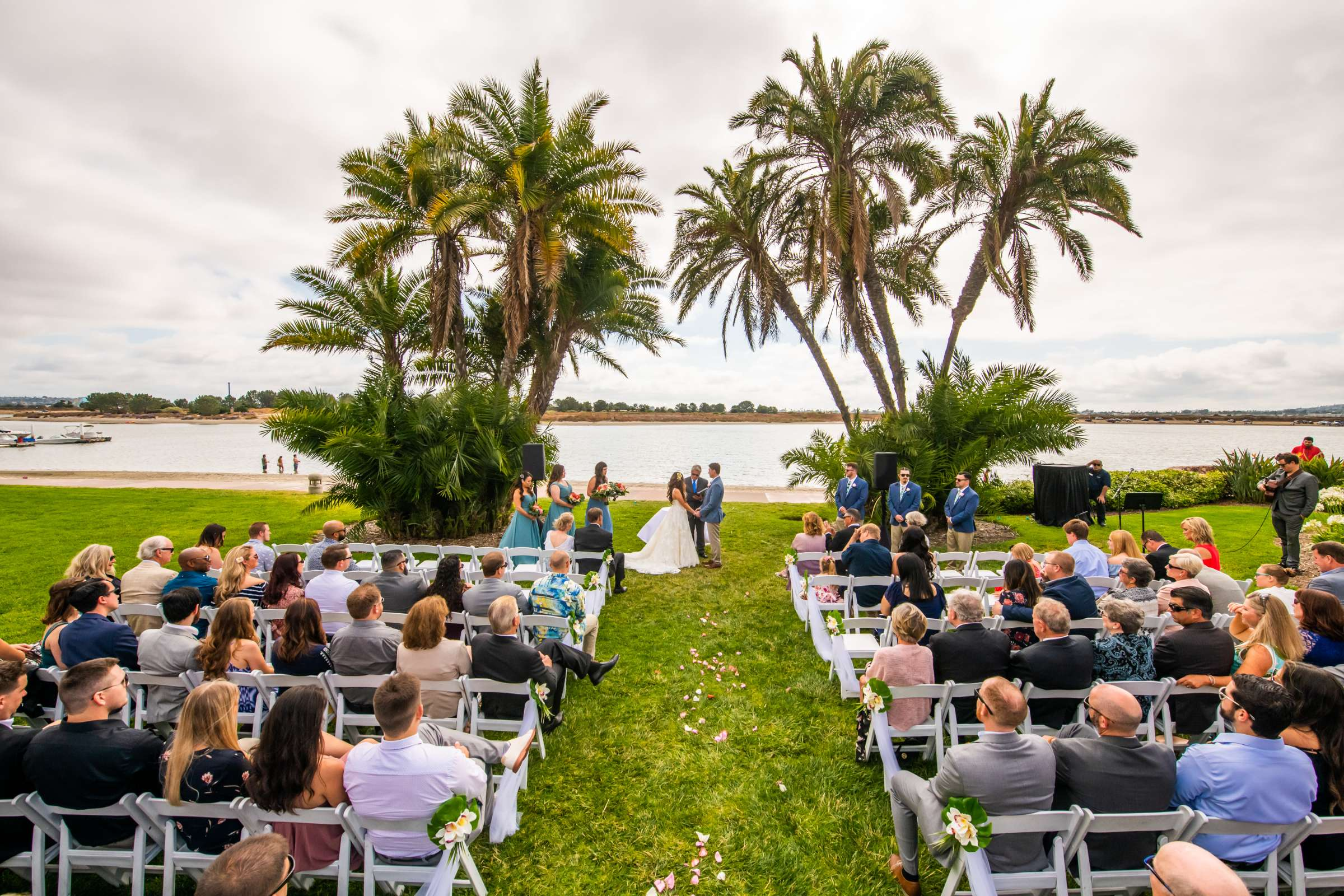 San Diego Mission Bay Resort Wedding coordinated by Cafe Au Love, Lauren and Adam Wedding Photo #71 by True Photography