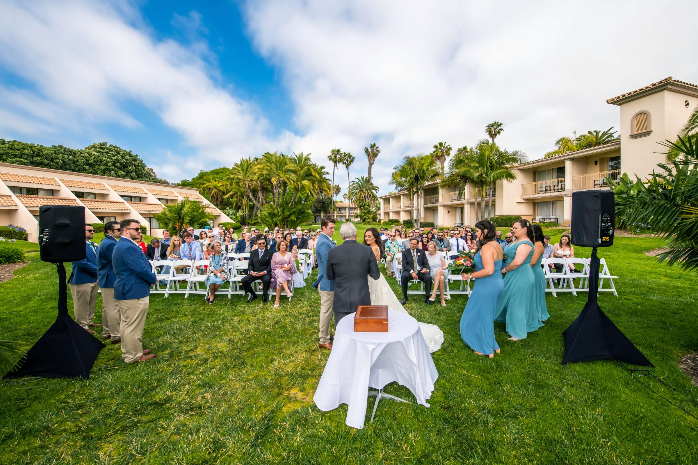 San Diego Mission Bay Resort Wedding coordinated by Cafe Au Love, Lauren and Adam Wedding Photo #74 by True Photography