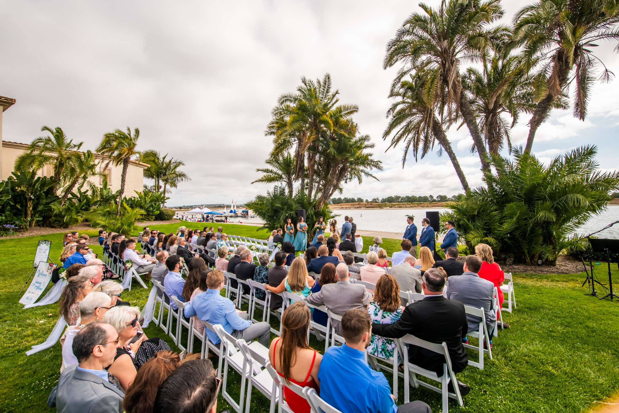 San Diego Mission Bay Resort Wedding coordinated by Cafe Au Love, Lauren and Adam Wedding Photo #75 by True Photography