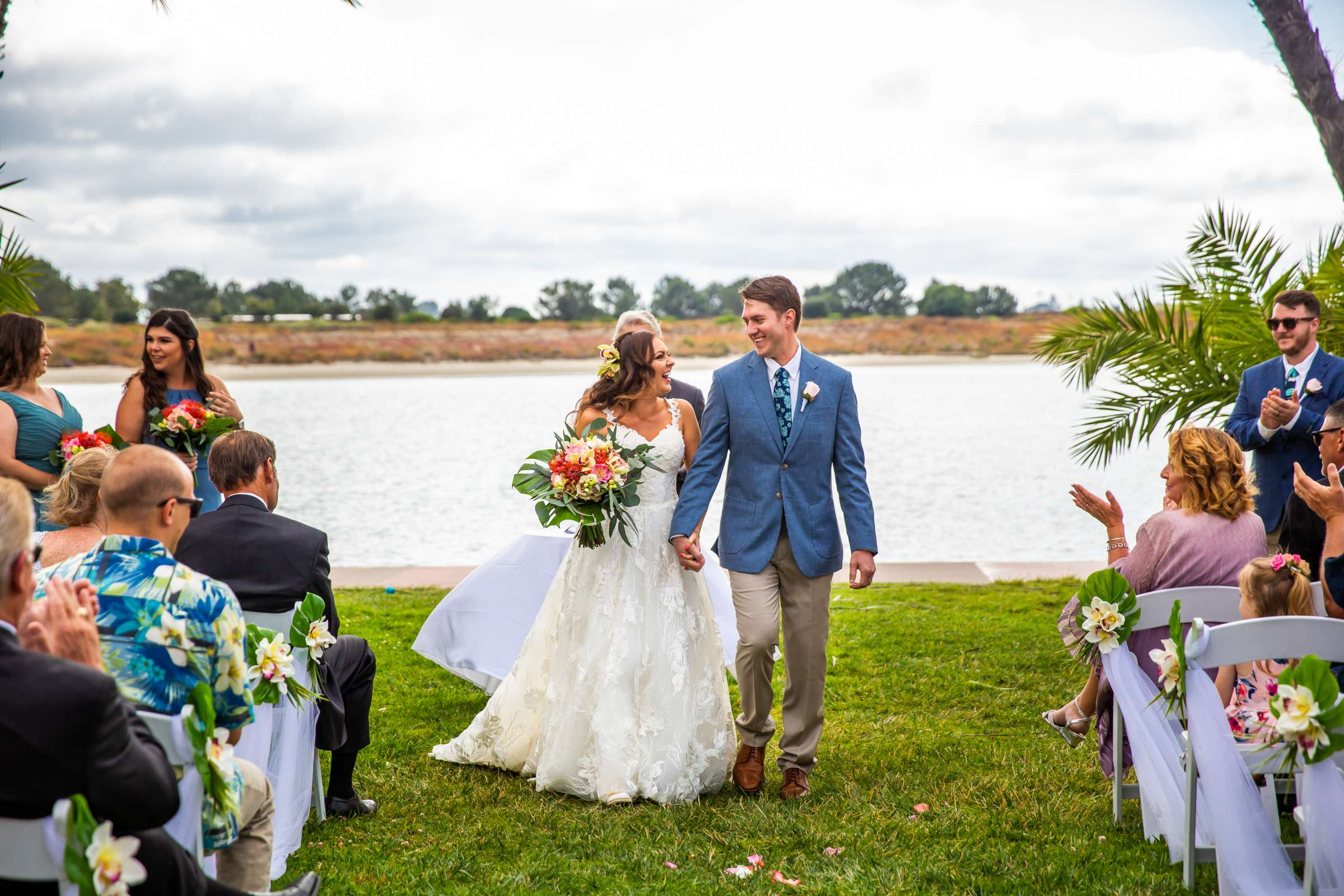 San Diego Mission Bay Resort Wedding coordinated by Cafe Au Love, Lauren and Adam Wedding Photo #84 by True Photography