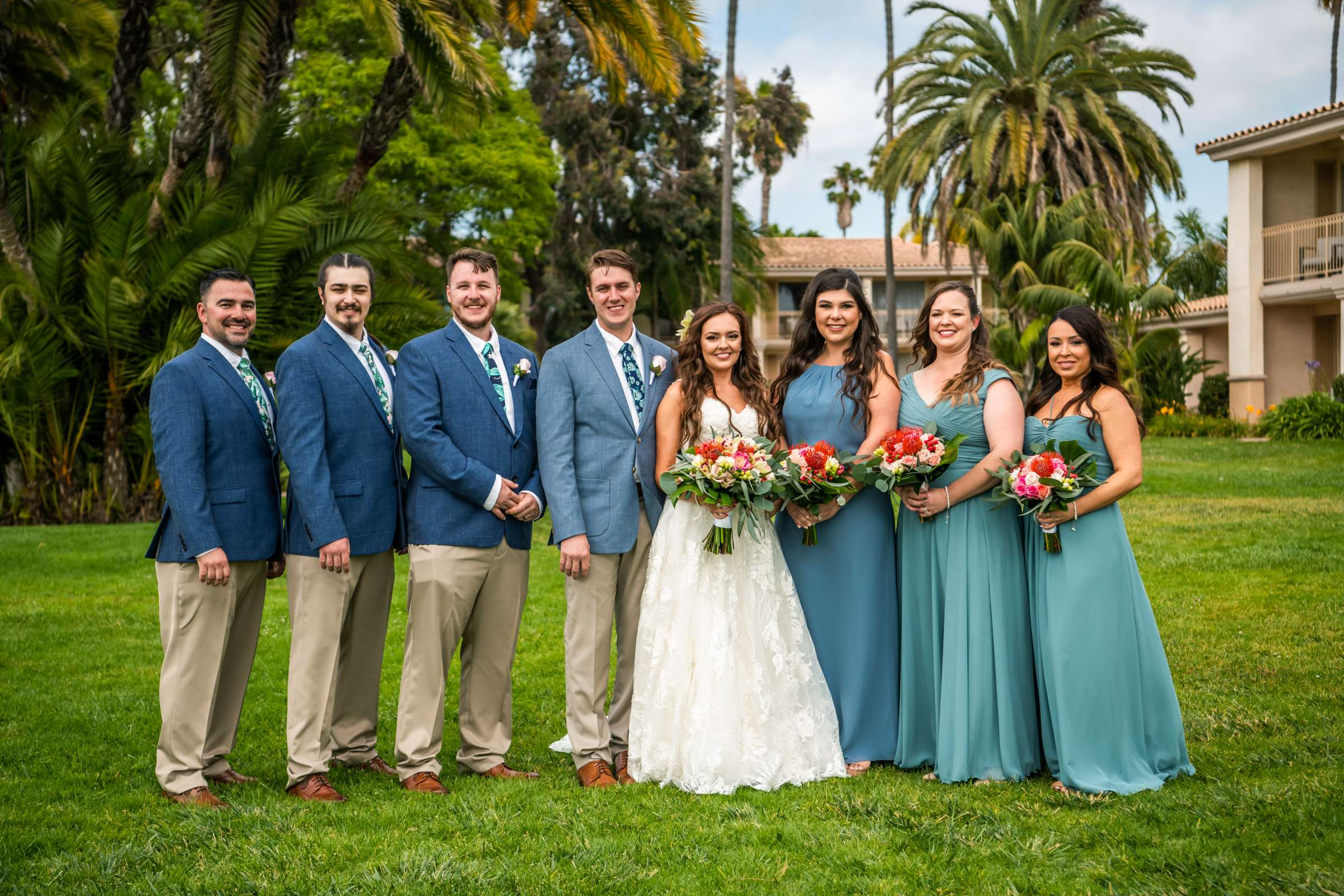 San Diego Mission Bay Resort Wedding coordinated by Cafe Au Love, Lauren and Adam Wedding Photo #87 by True Photography