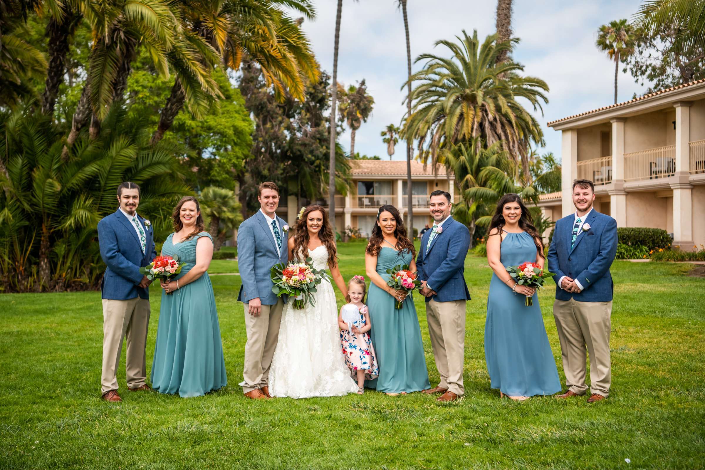 San Diego Mission Bay Resort Wedding coordinated by Cafe Au Love, Lauren and Adam Wedding Photo #88 by True Photography