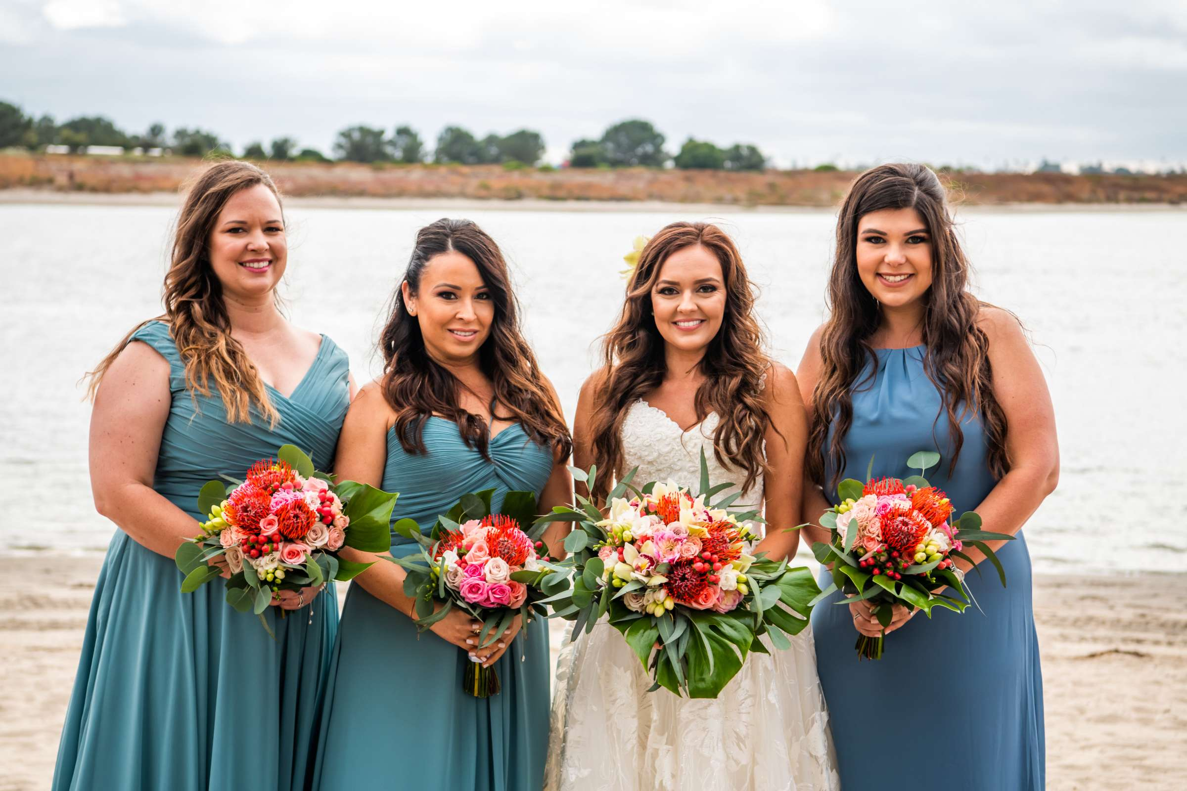San Diego Mission Bay Resort Wedding coordinated by Cafe Au Love, Lauren and Adam Wedding Photo #104 by True Photography