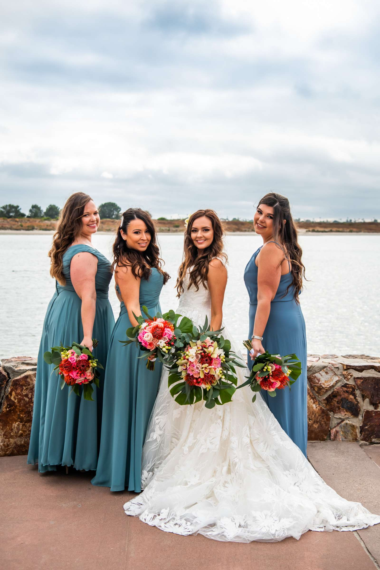 San Diego Mission Bay Resort Wedding coordinated by Cafe Au Love, Lauren and Adam Wedding Photo #108 by True Photography
