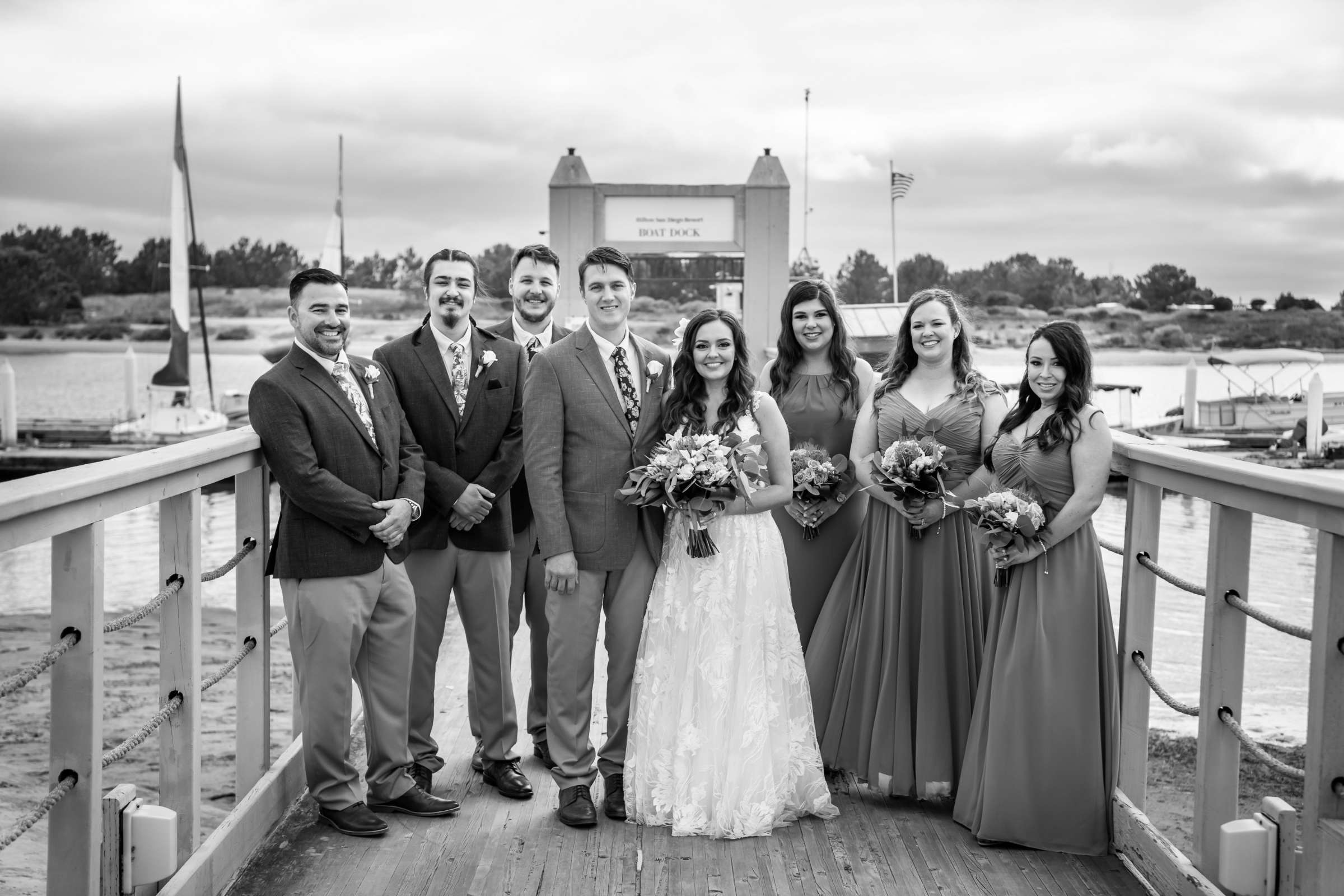 San Diego Mission Bay Resort Wedding coordinated by Cafe Au Love, Lauren and Adam Wedding Photo #111 by True Photography