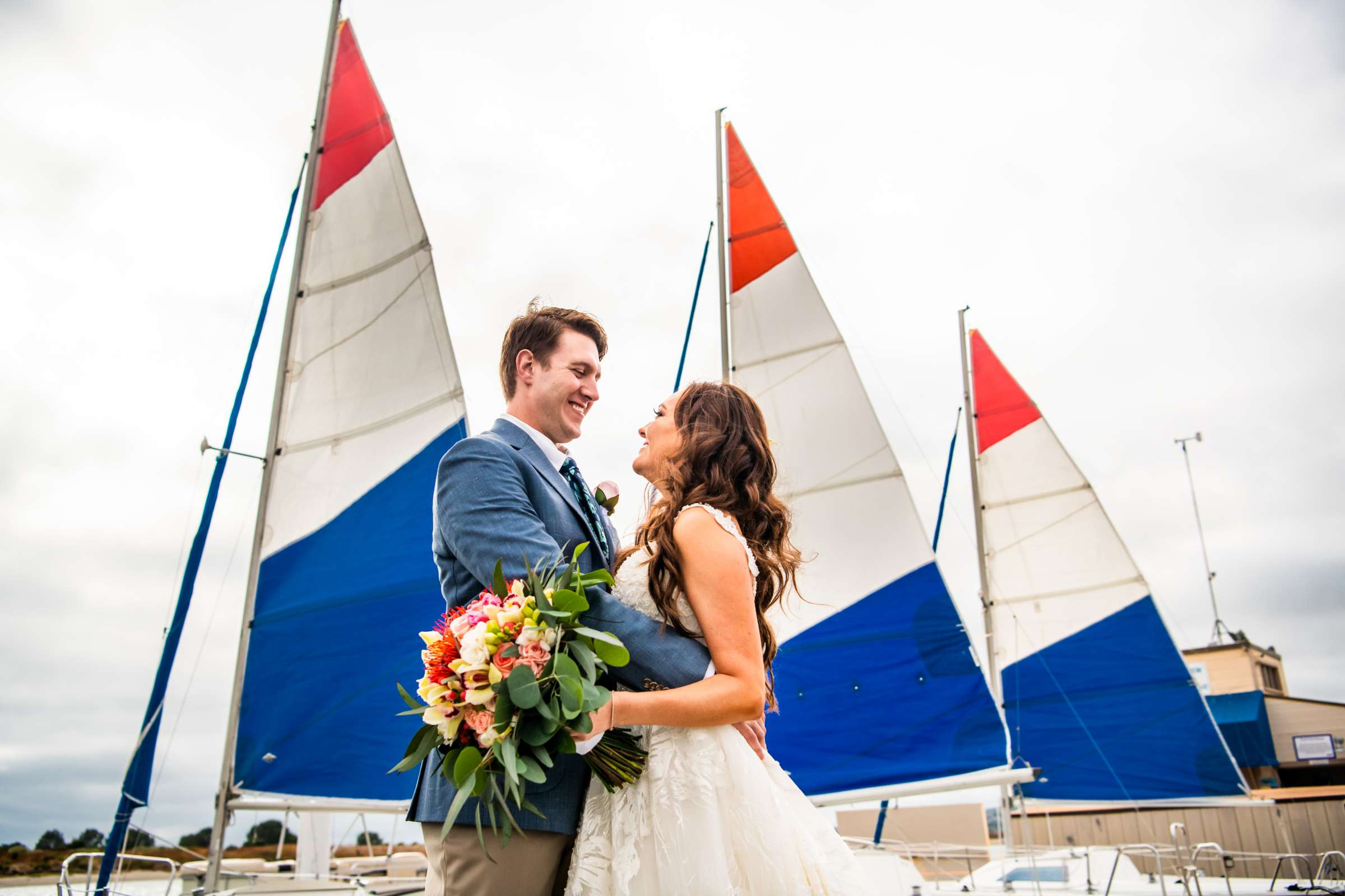 San Diego Mission Bay Resort Wedding coordinated by Cafe Au Love, Lauren and Adam Wedding Photo #113 by True Photography