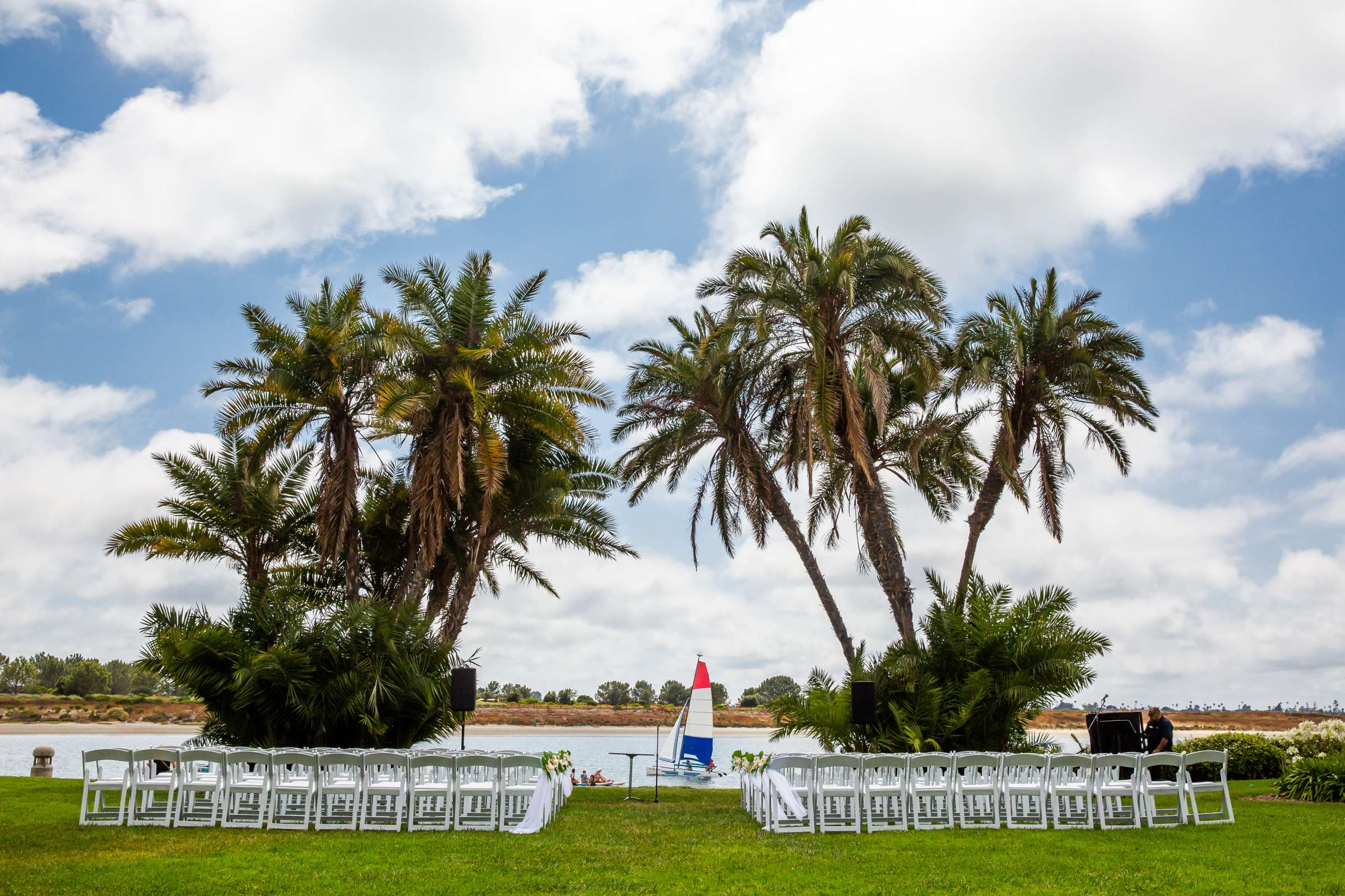 San Diego Mission Bay Resort Wedding coordinated by Cafe Au Love, Lauren and Adam Wedding Photo #141 by True Photography