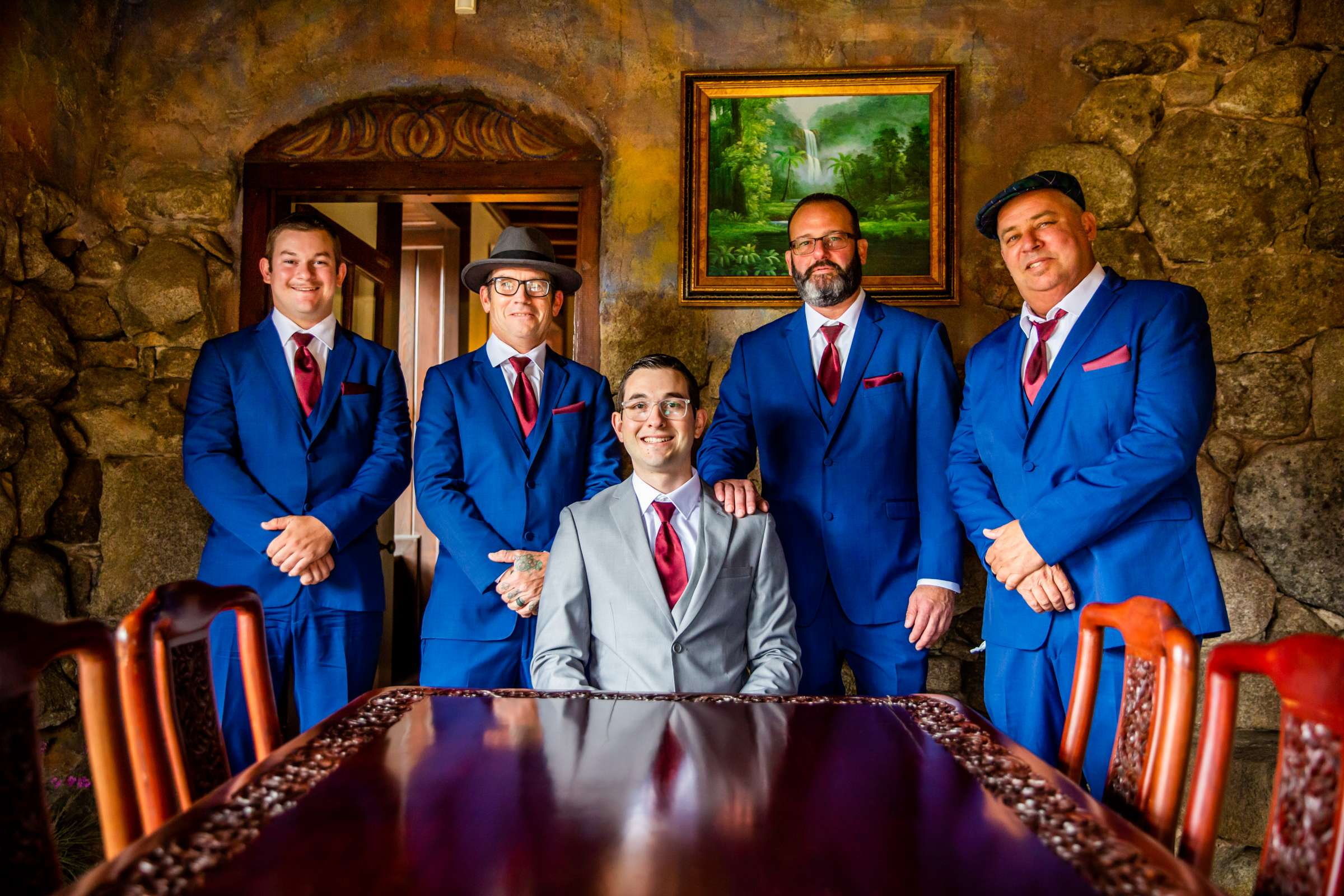 Mt Woodson Castle Wedding, Valerie and Ian Wedding Photo #46 by True Photography