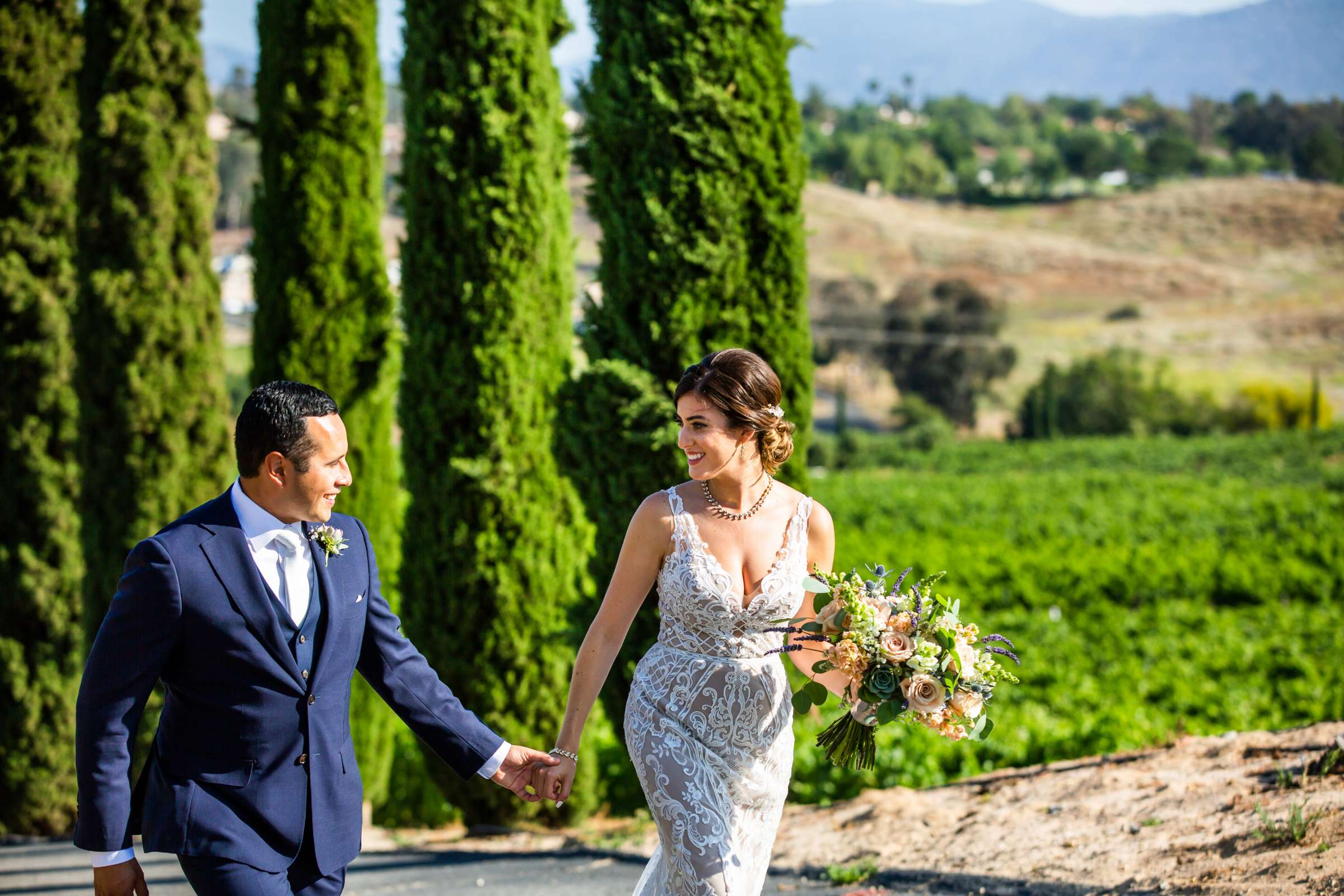 Callaway Vineyards & Winery Wedding coordinated by Michelle Garibay Events, Chelsea and Luis carlos Wedding Photo #7 by True Photography