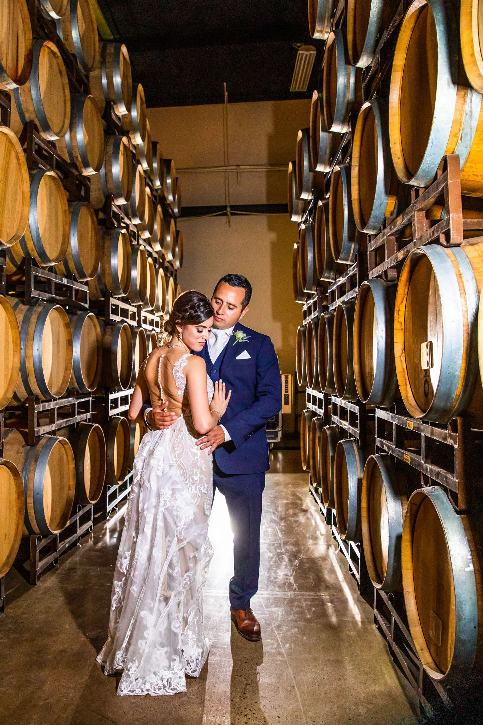 Winery at Callaway Vineyards & Winery Wedding coordinated by Michelle Garibay Events, Chelsea and Luis carlos Wedding Photo #30 by True Photography