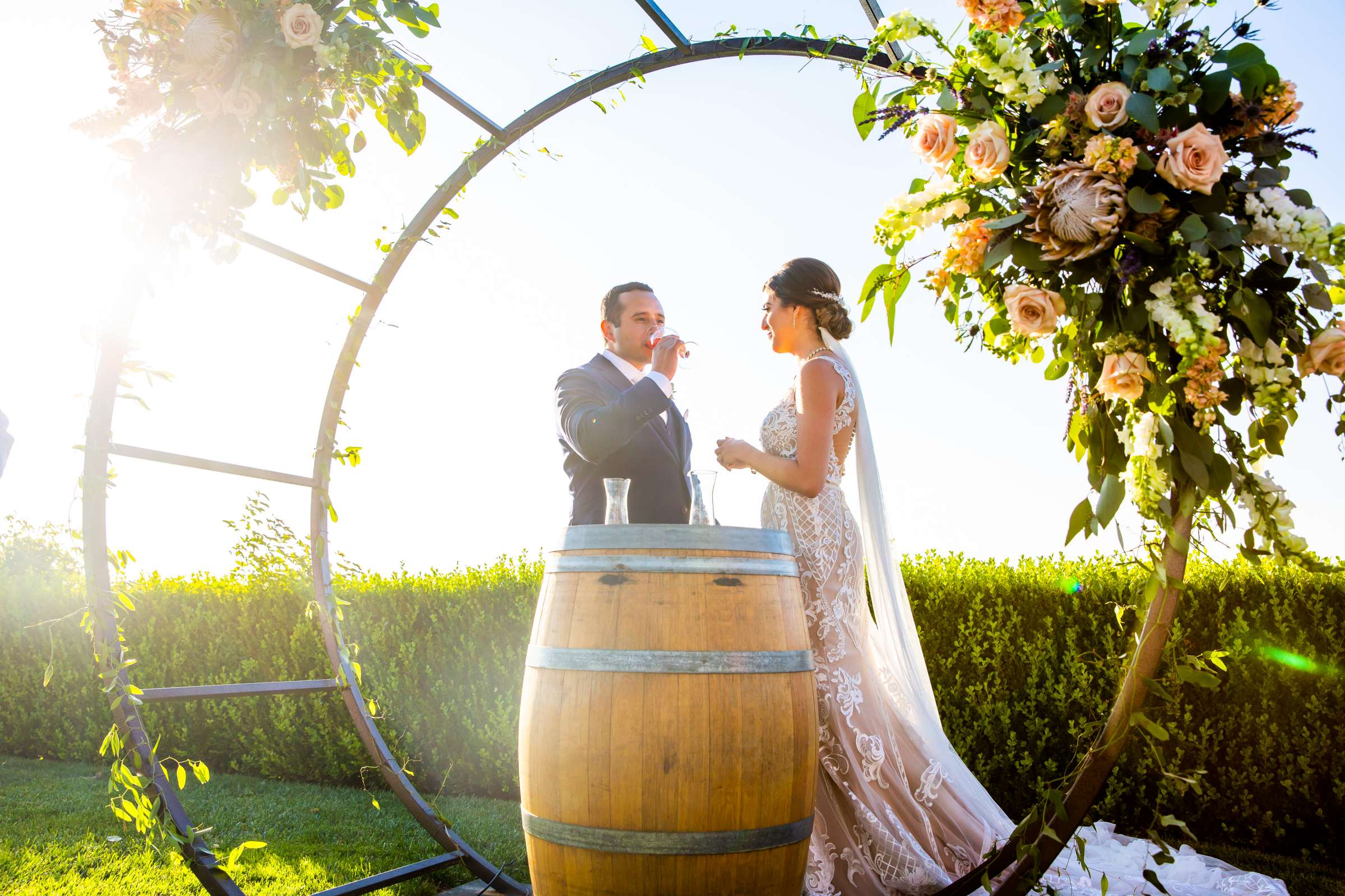 Callaway Vineyards & Winery Wedding coordinated by Michelle Garibay Events, Chelsea and Luis carlos Wedding Photo #99 by True Photography