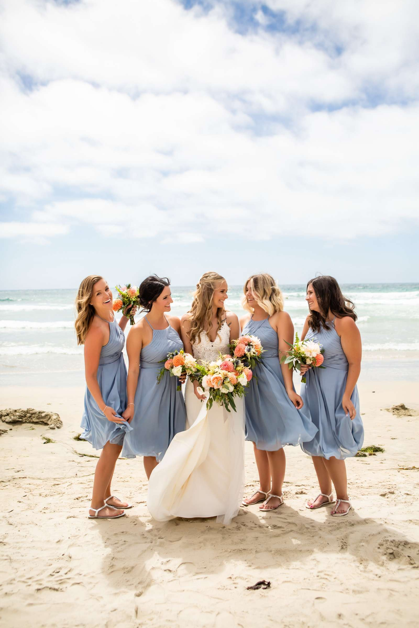 Scripps Seaside Forum Wedding coordinated by The Best Wedding For You, Jessica and Cameron Wedding Photo #19 by True Photography