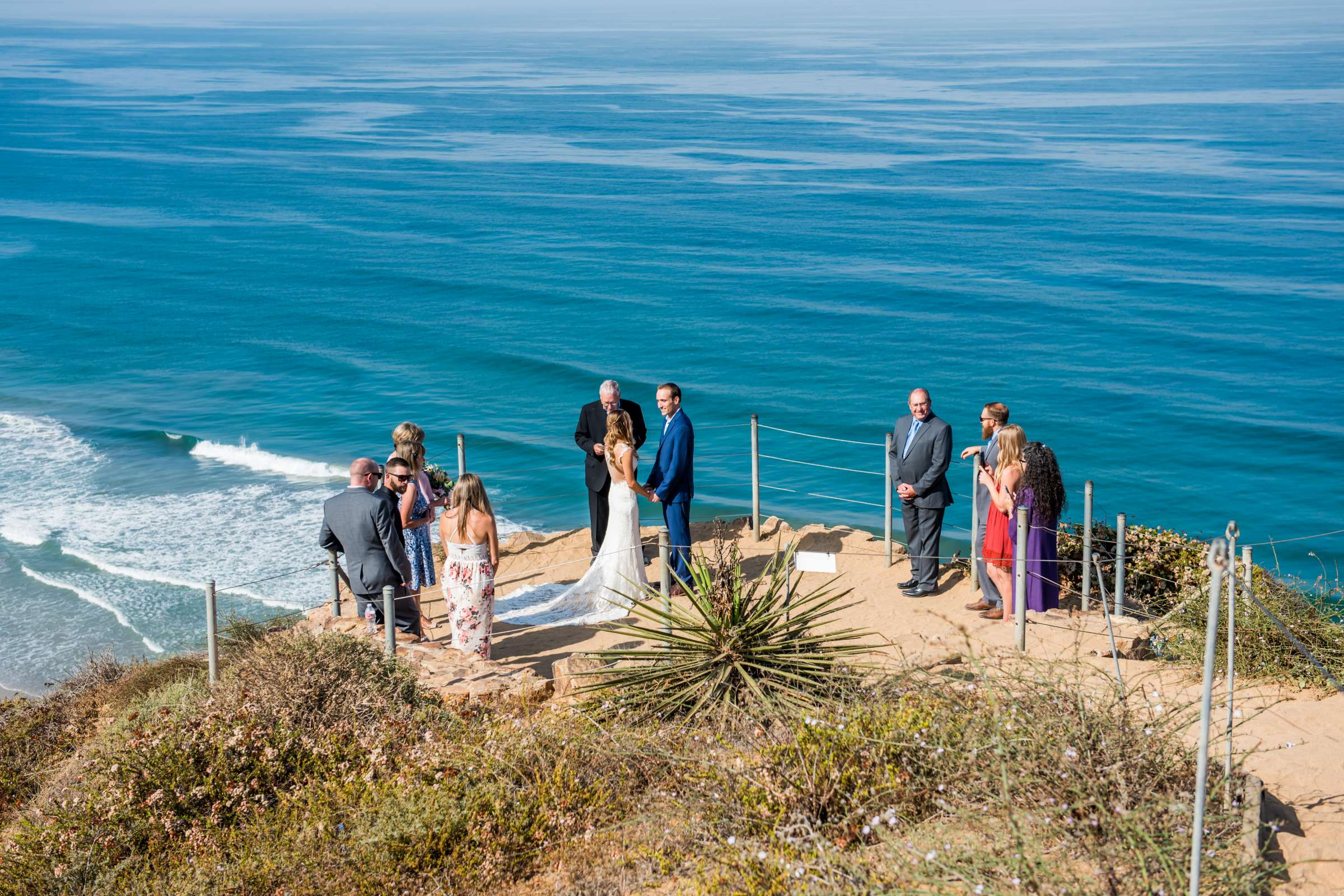 Torrey Pines State Natural Reserve Wedding, Lizzy and Justin Wedding Photo #45 by True Photography