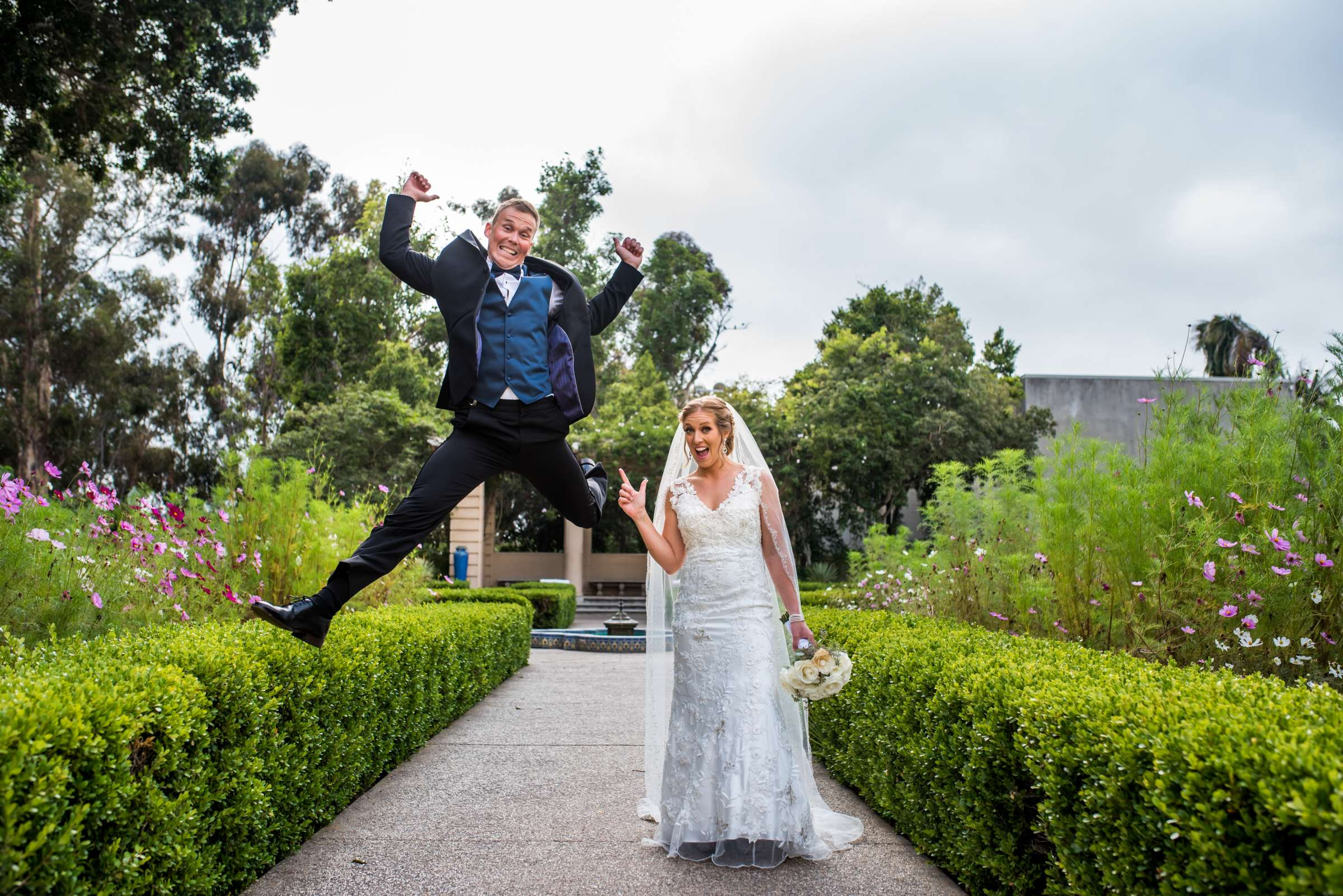 San Diego Courthouse Wedding, Stephanie and Tyler Wedding Photo #2 by True Photography