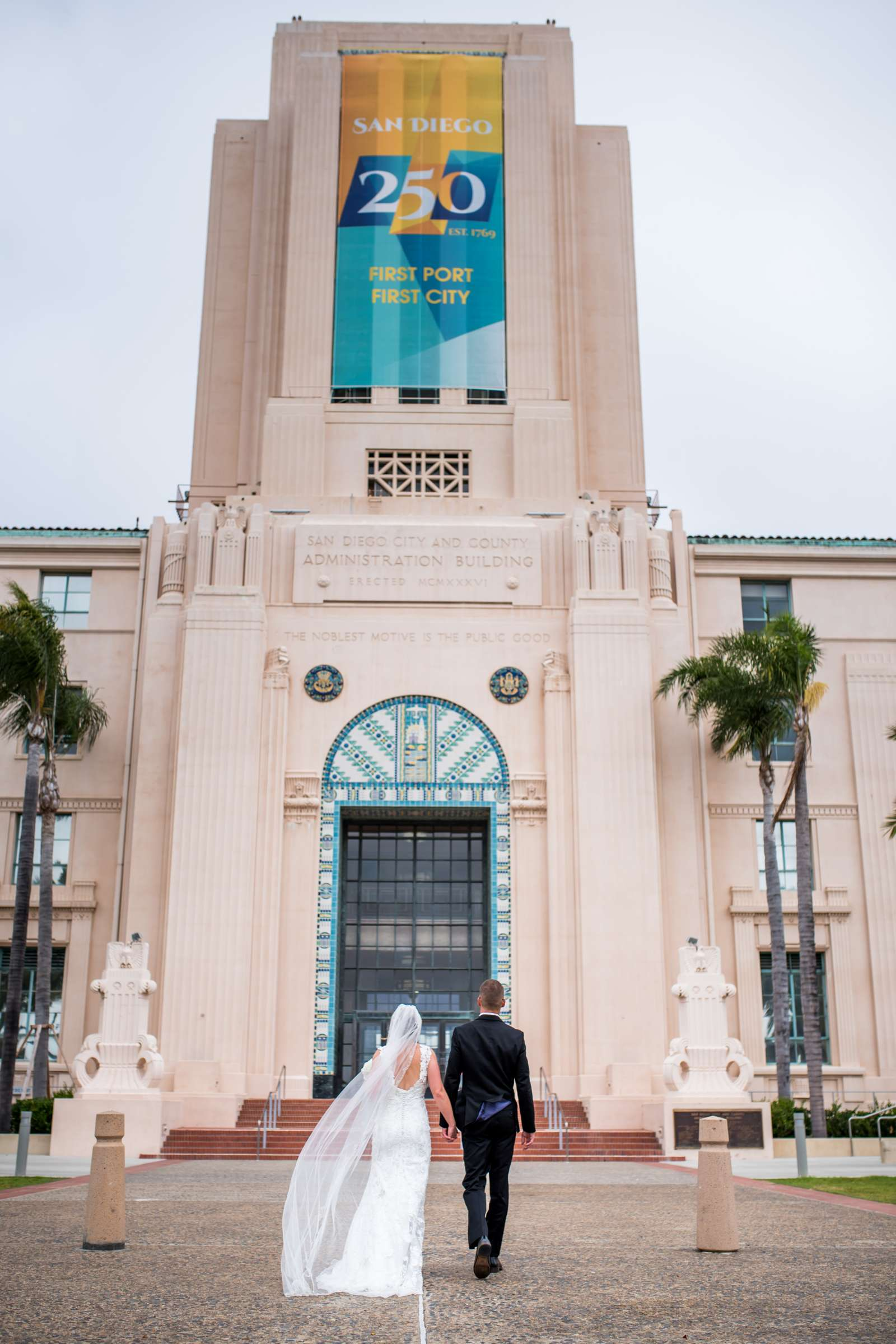 San Diego Courthouse Wedding, Stephanie and Tyler Wedding Photo #11 by True Photography