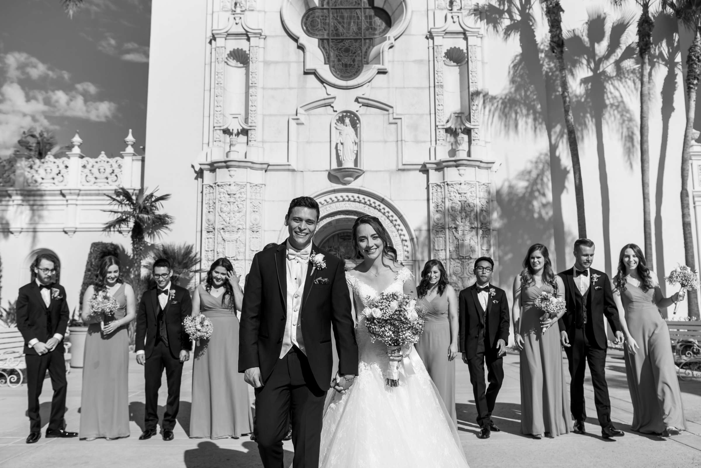 The Immaculata Wedding, Arianna and Jonah Wedding Photo #74 by True Photography