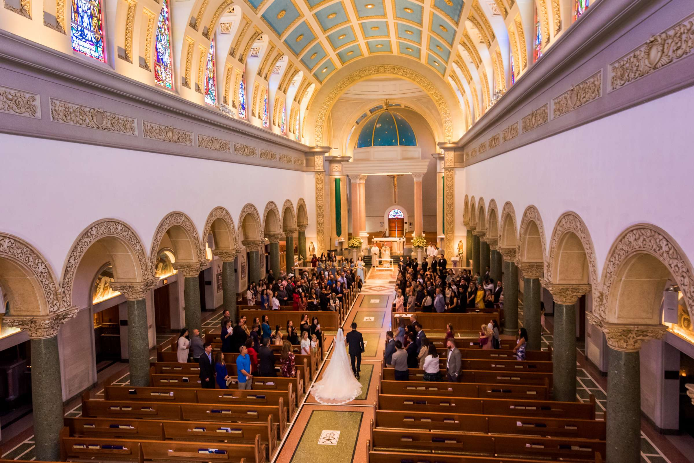The Immaculata Wedding, Arianna and Jonah Wedding Photo #106 by True Photography