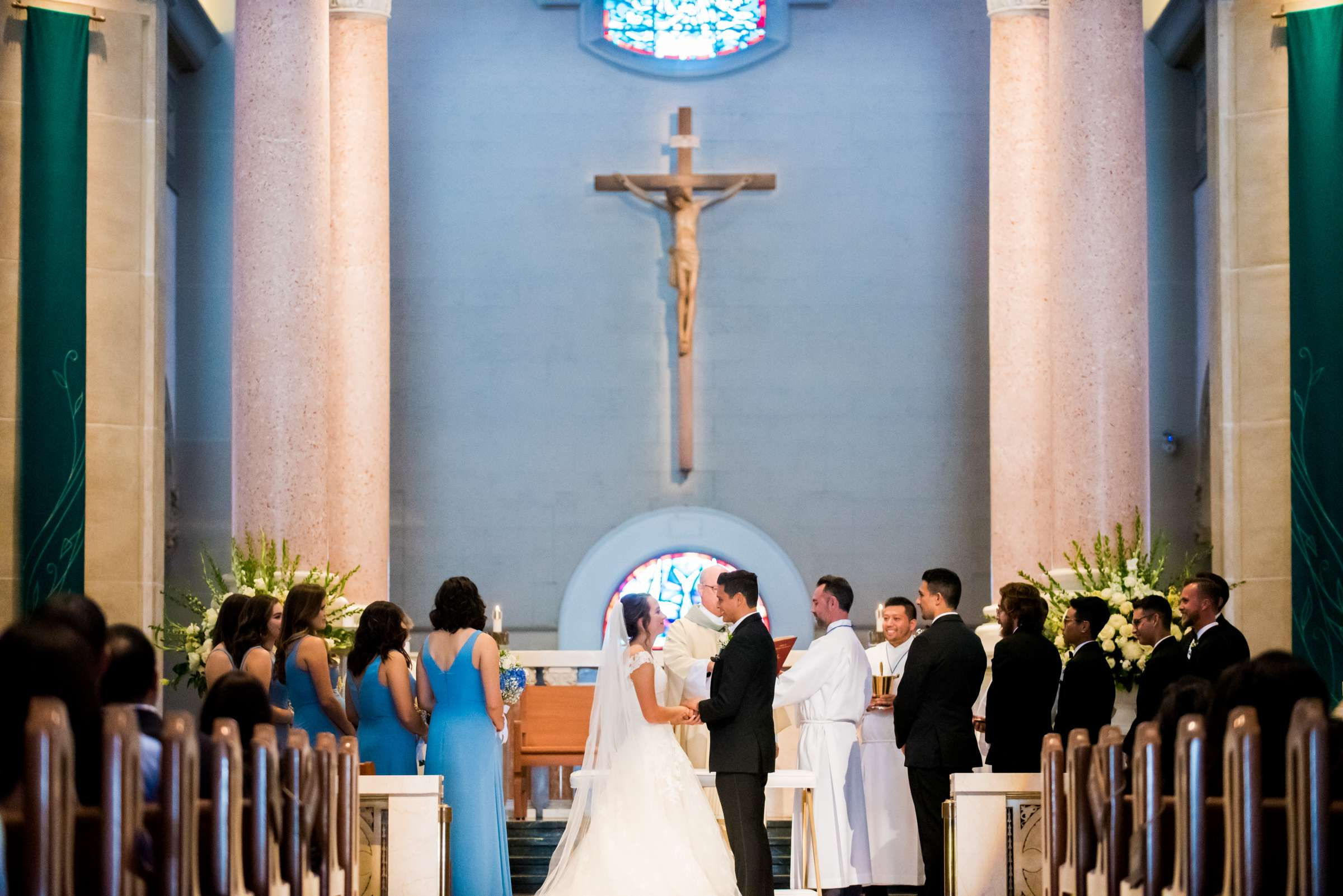 The Immaculata Wedding, Arianna and Jonah Wedding Photo #124 by True Photography