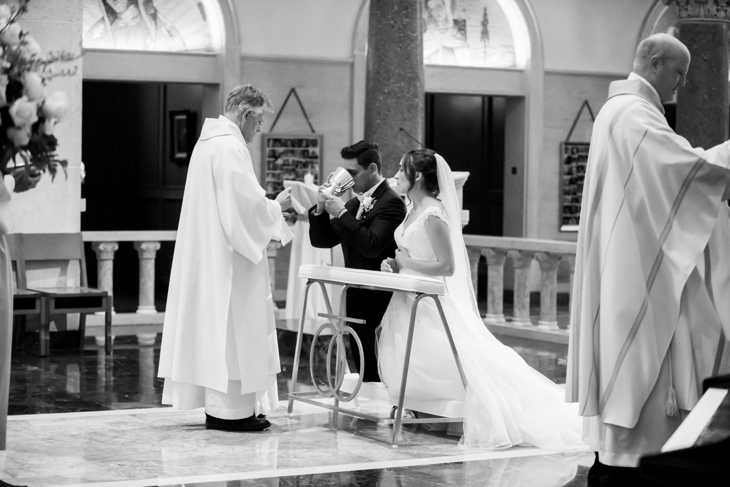 The Immaculata Wedding, Arianna and Jonah Wedding Photo #131 by True Photography