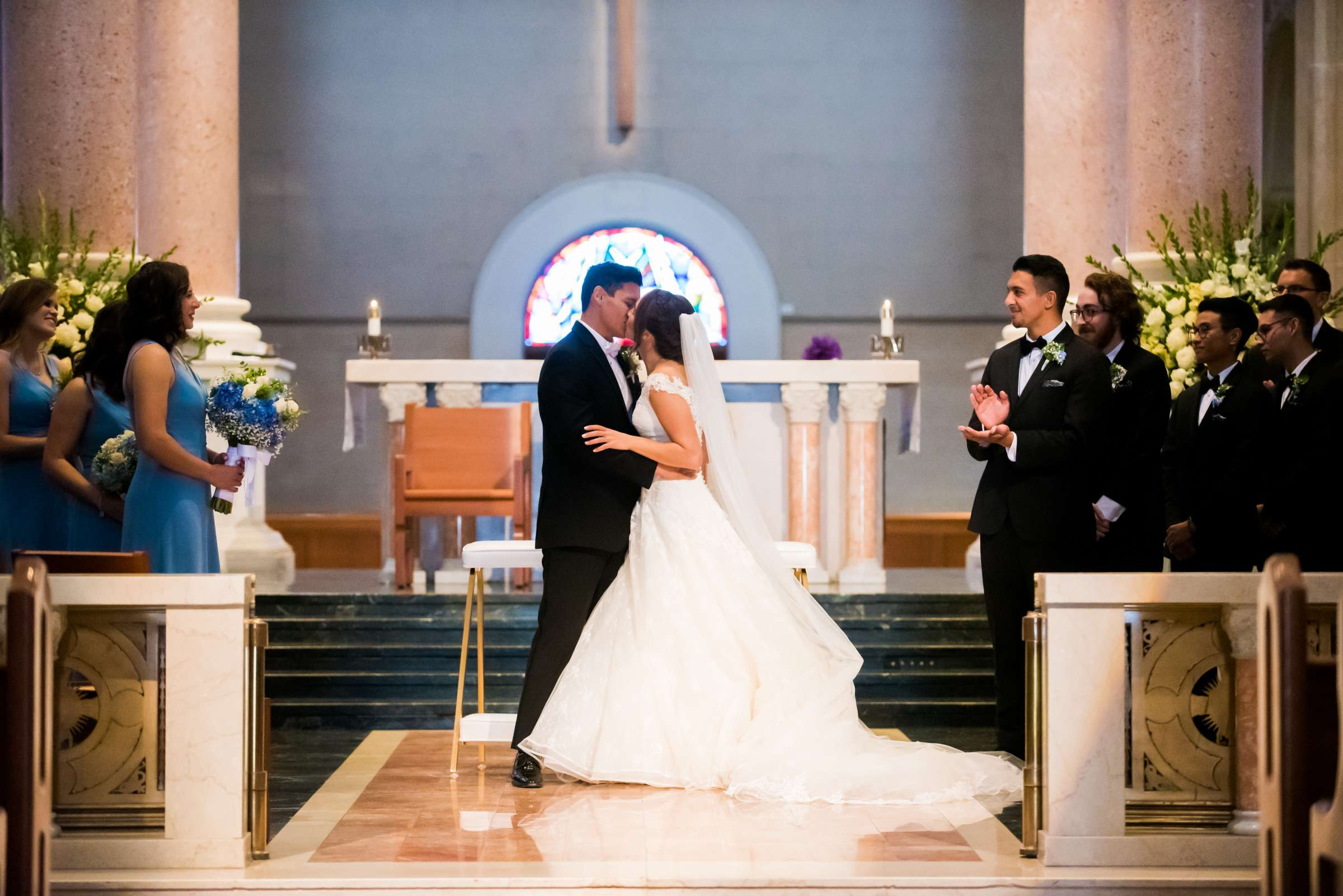 The Immaculata Wedding, Arianna and Jonah Wedding Photo #133 by True Photography