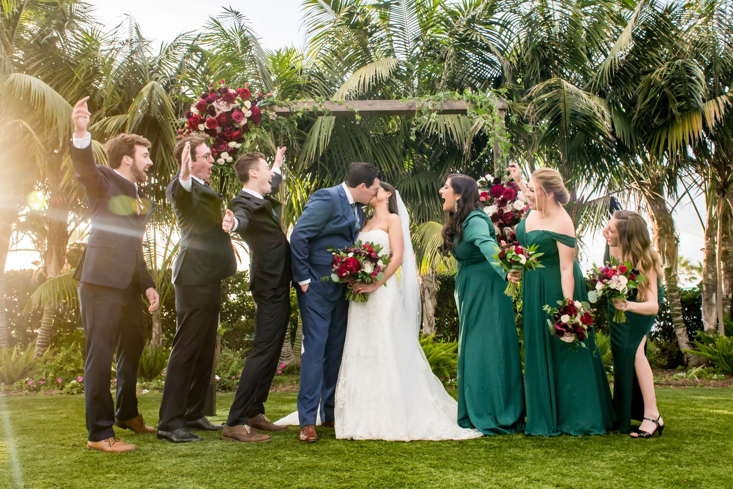 Cape Rey Carlsbad, A Hilton Resort Wedding, Jasmine and Kyle Wedding Photo #17 by True Photography