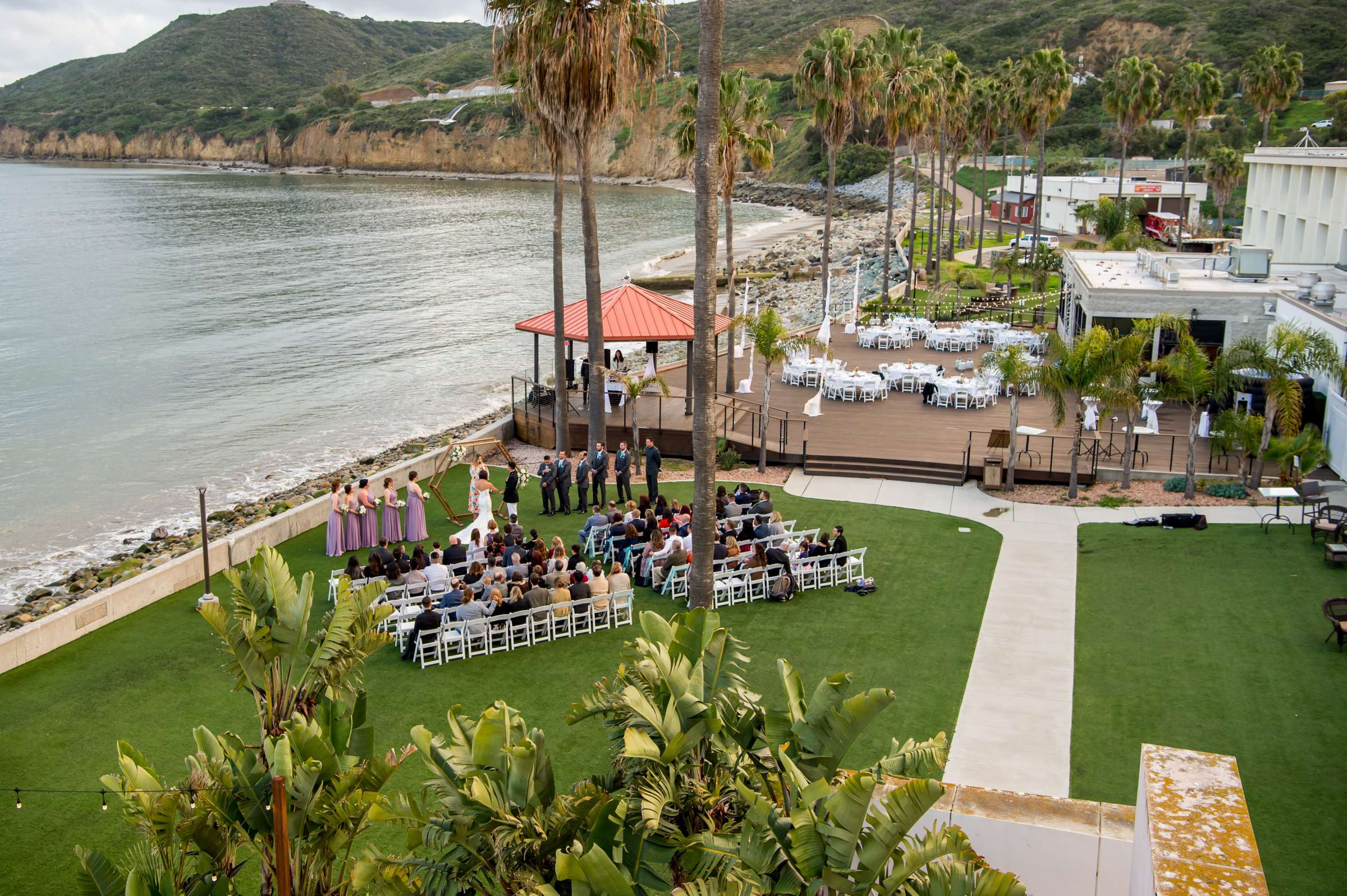Ocean View Room Wedding, Kristen and Alberto Wedding Photo #602067 by True Photography
