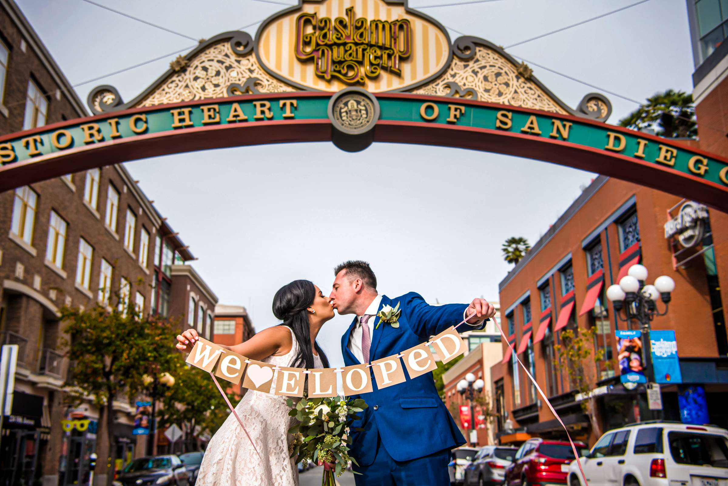 San Diego Courthouse Wedding, Alyah and Brian Wedding Photo #604496 by True Photography