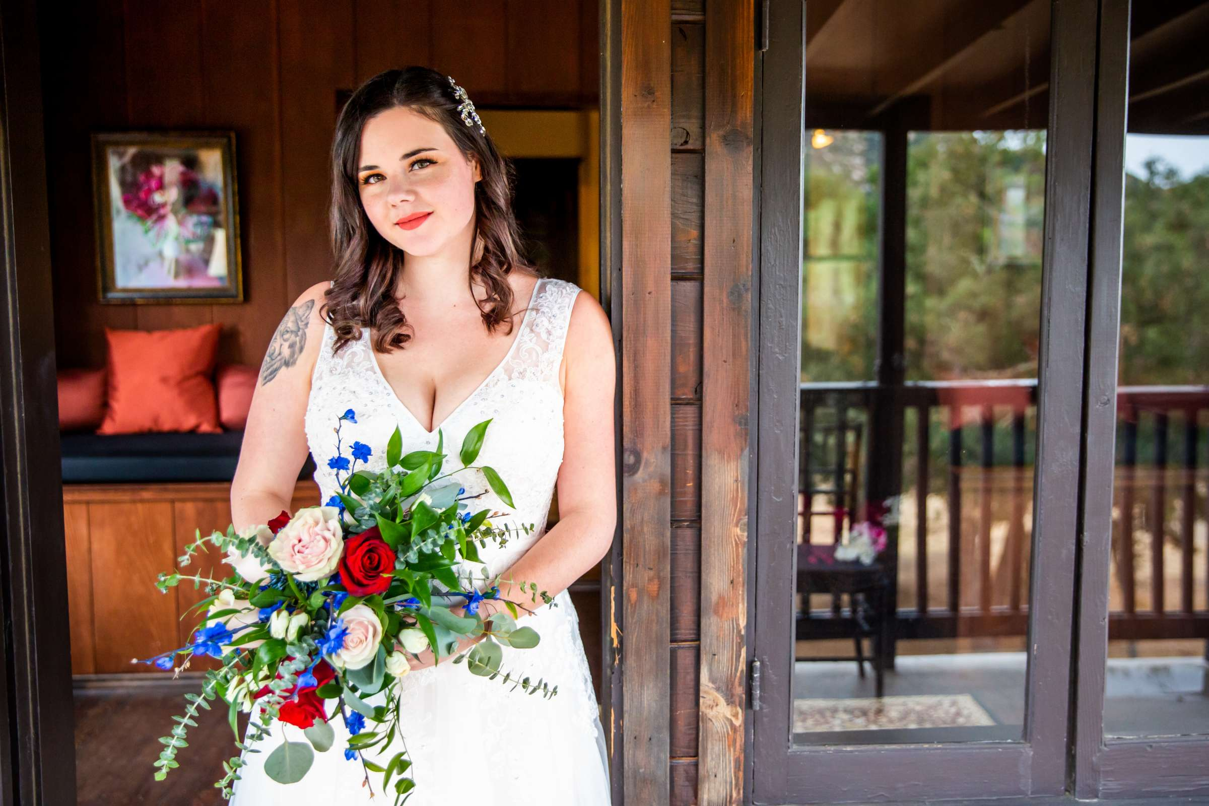 Mt Woodson Castle Wedding, Valerie and Ian Wedding Photo #44 by True Photography