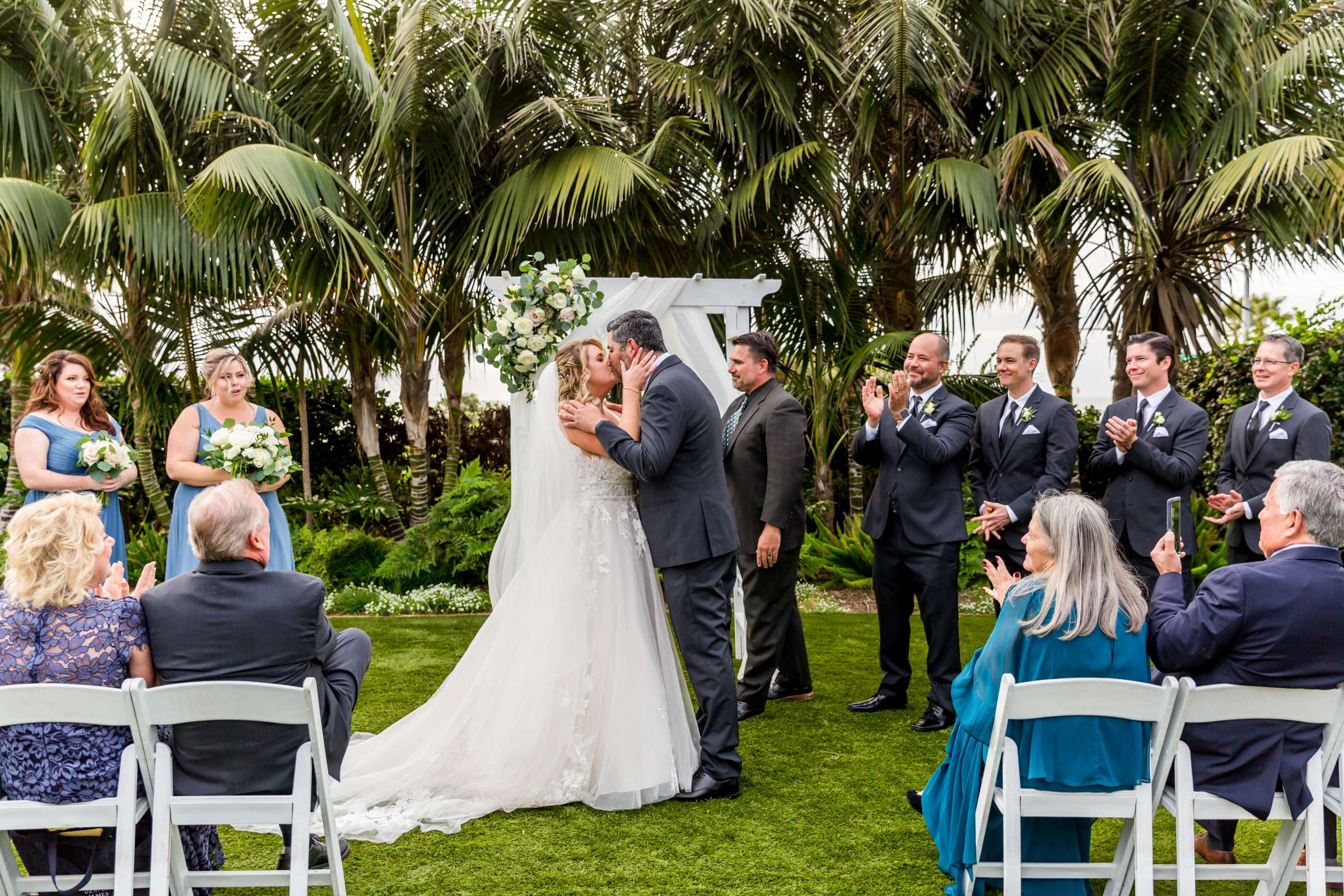 Cape Rey Carlsbad, A Hilton Resort Wedding, Michelle and Justin Wedding Photo #67 by True Photography