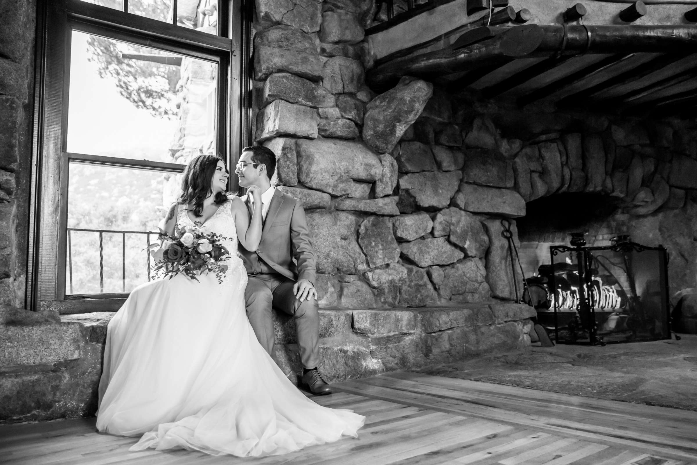 Mt Woodson Castle Wedding, Valerie and Ian Wedding Photo #15 by True Photography