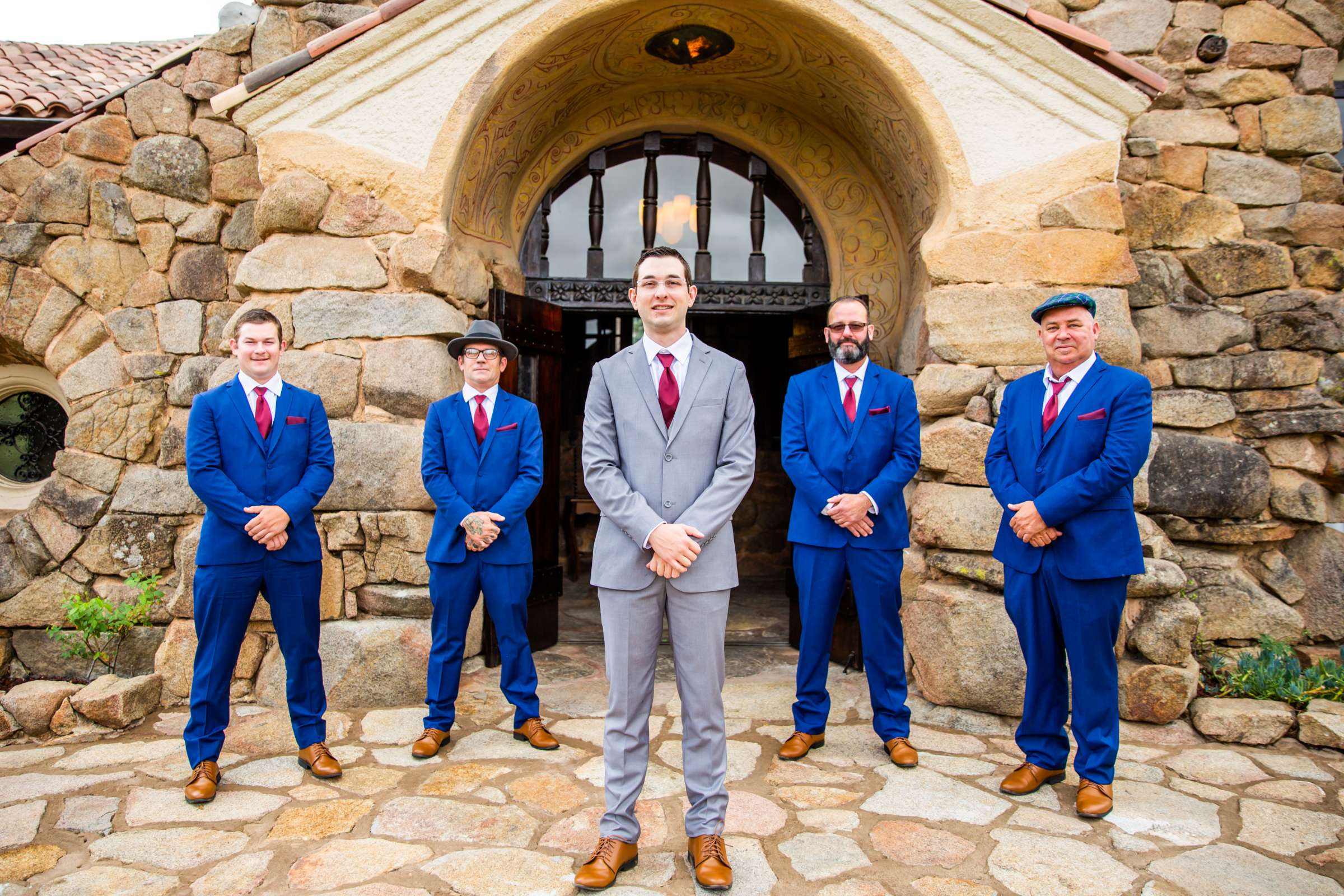 Mt Woodson Castle Wedding, Valerie and Ian Wedding Photo #49 by True Photography