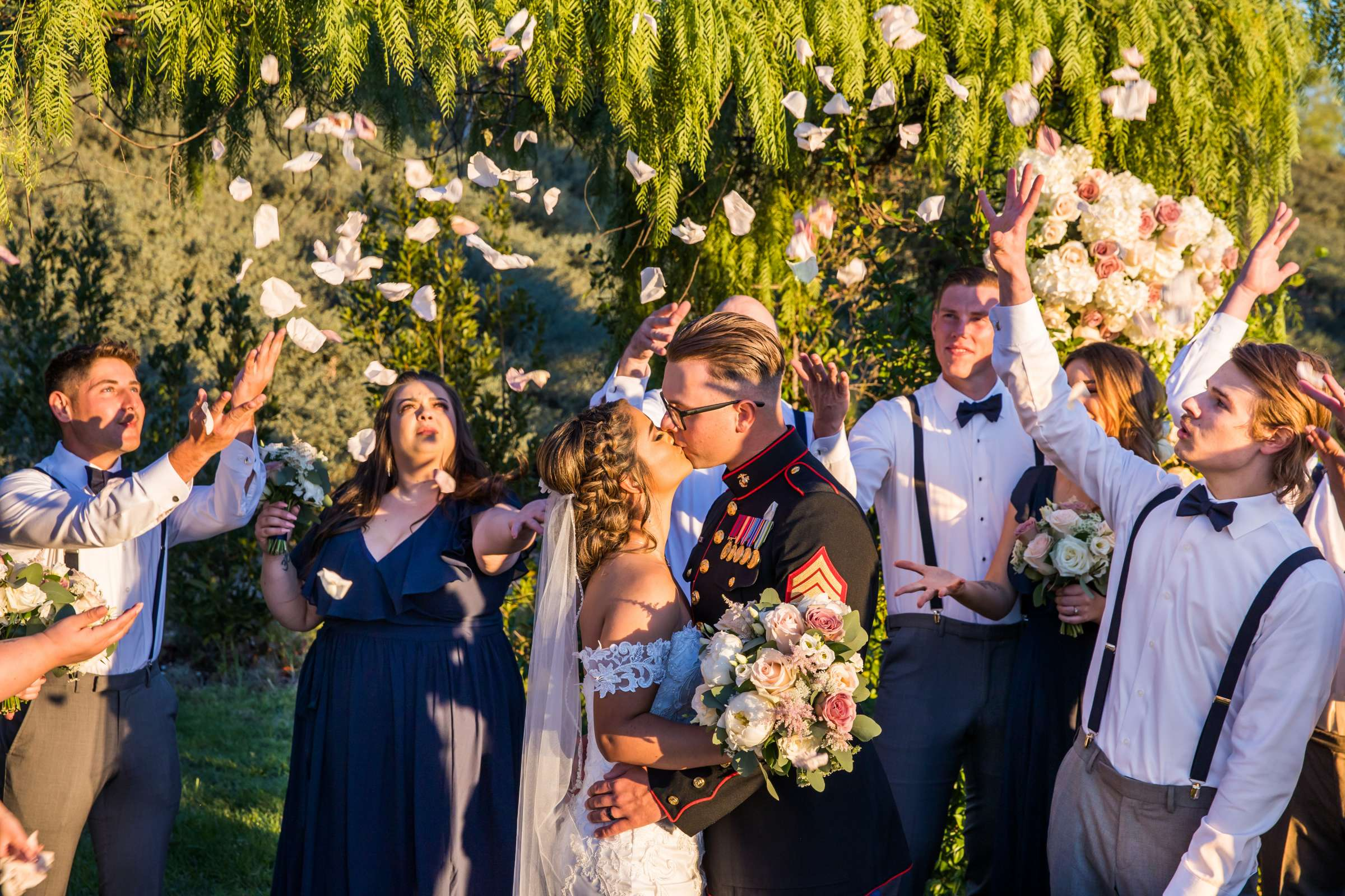Ethereal Gardens Wedding, Danielle and Ben Wedding Photo #15 by True Photography