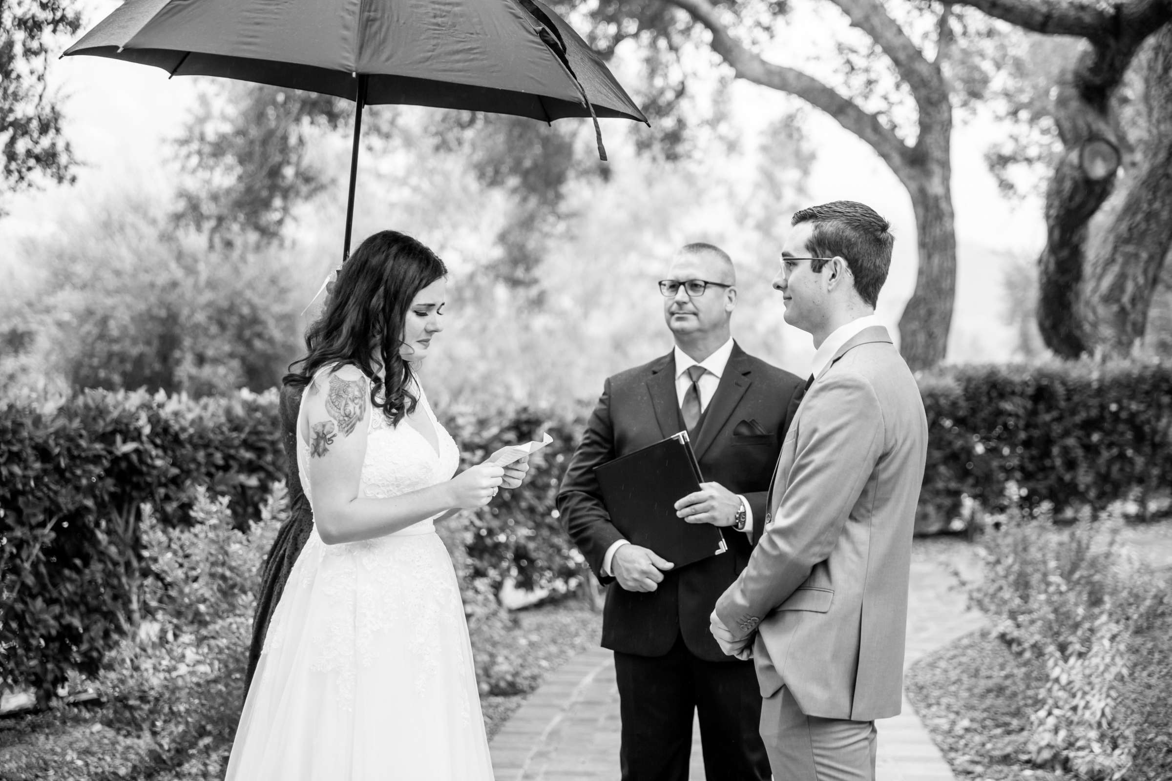 Mt Woodson Castle Wedding, Valerie and Ian Wedding Photo #69 by True Photography