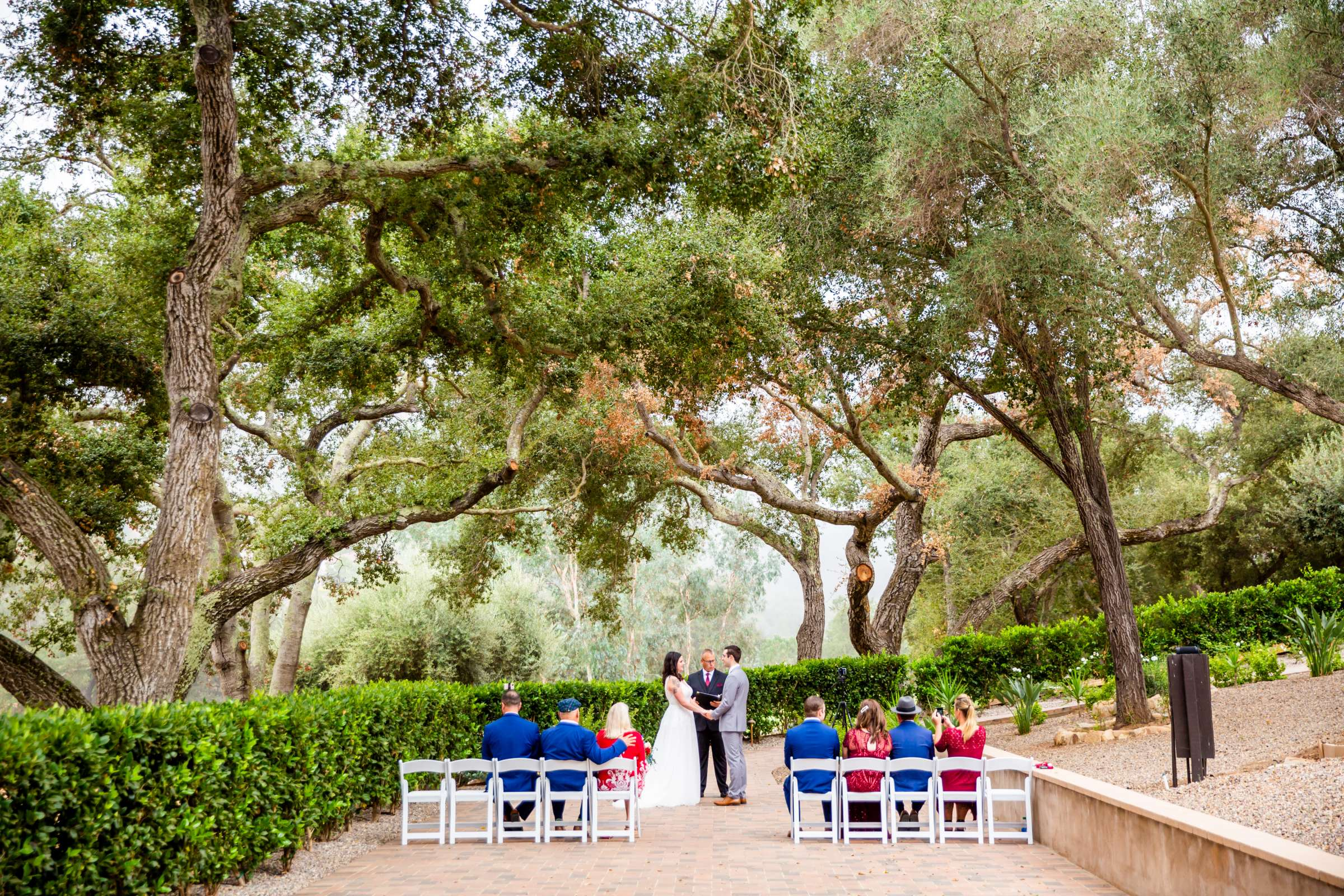 Mt Woodson Castle Wedding, Valerie and Ian Wedding Photo #60 by True Photography