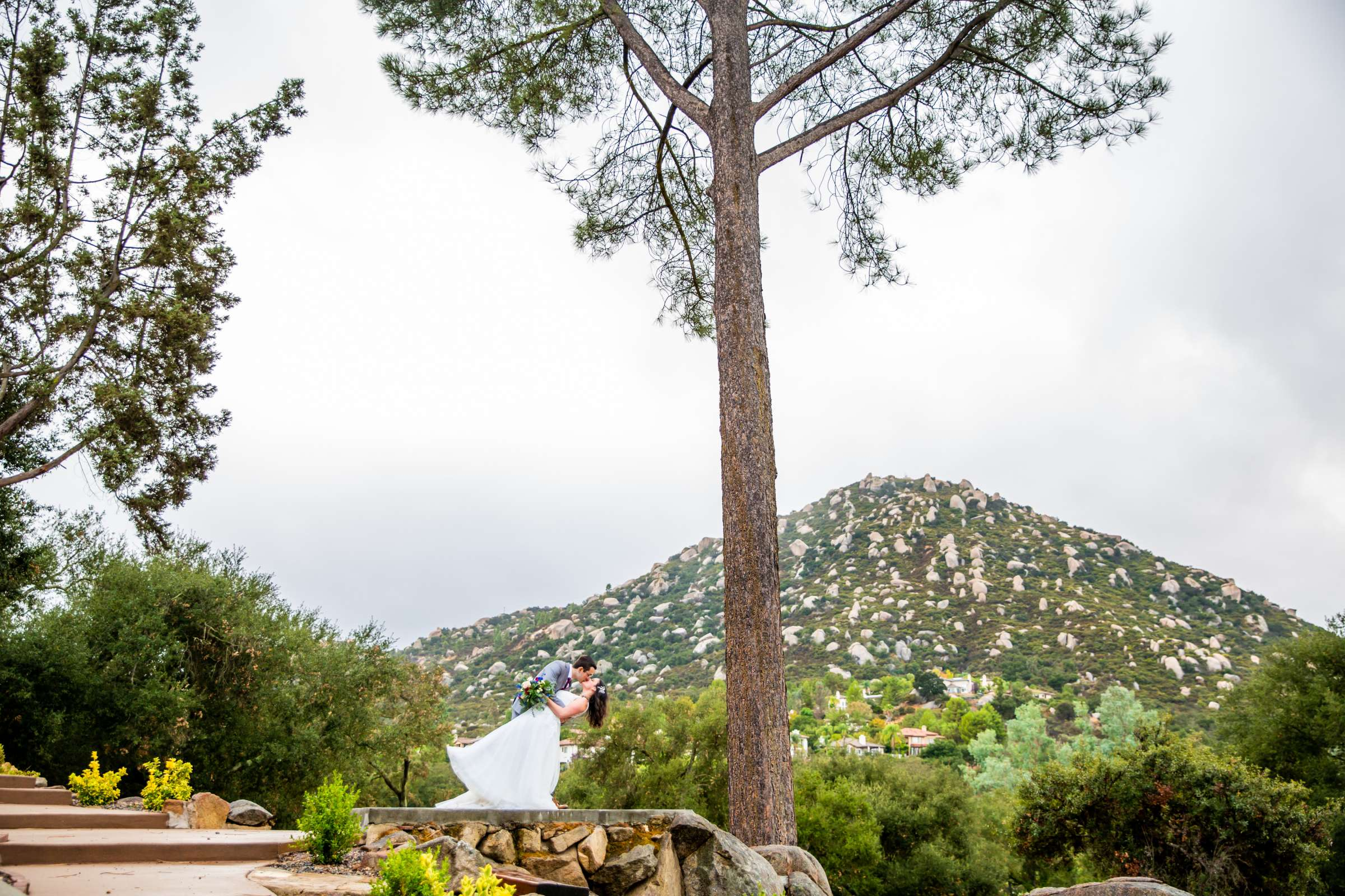 Mt Woodson Castle Wedding, Valerie and Ian Wedding Photo #18 by True Photography
