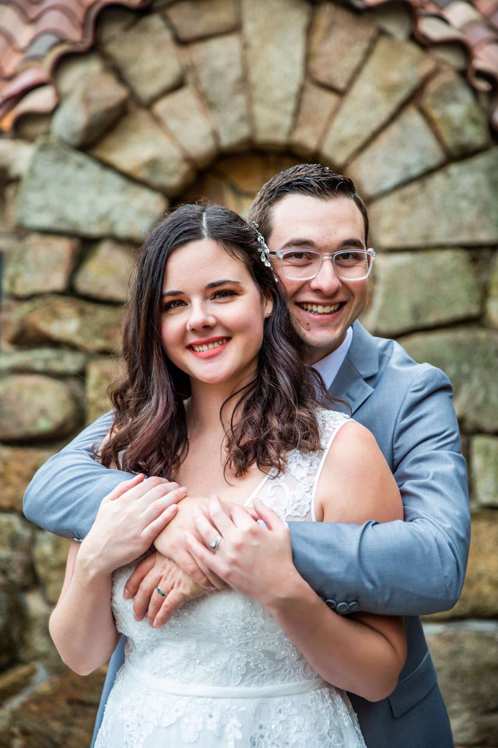 Mt Woodson Castle Wedding, Valerie and Ian Wedding Photo #5 by True Photography