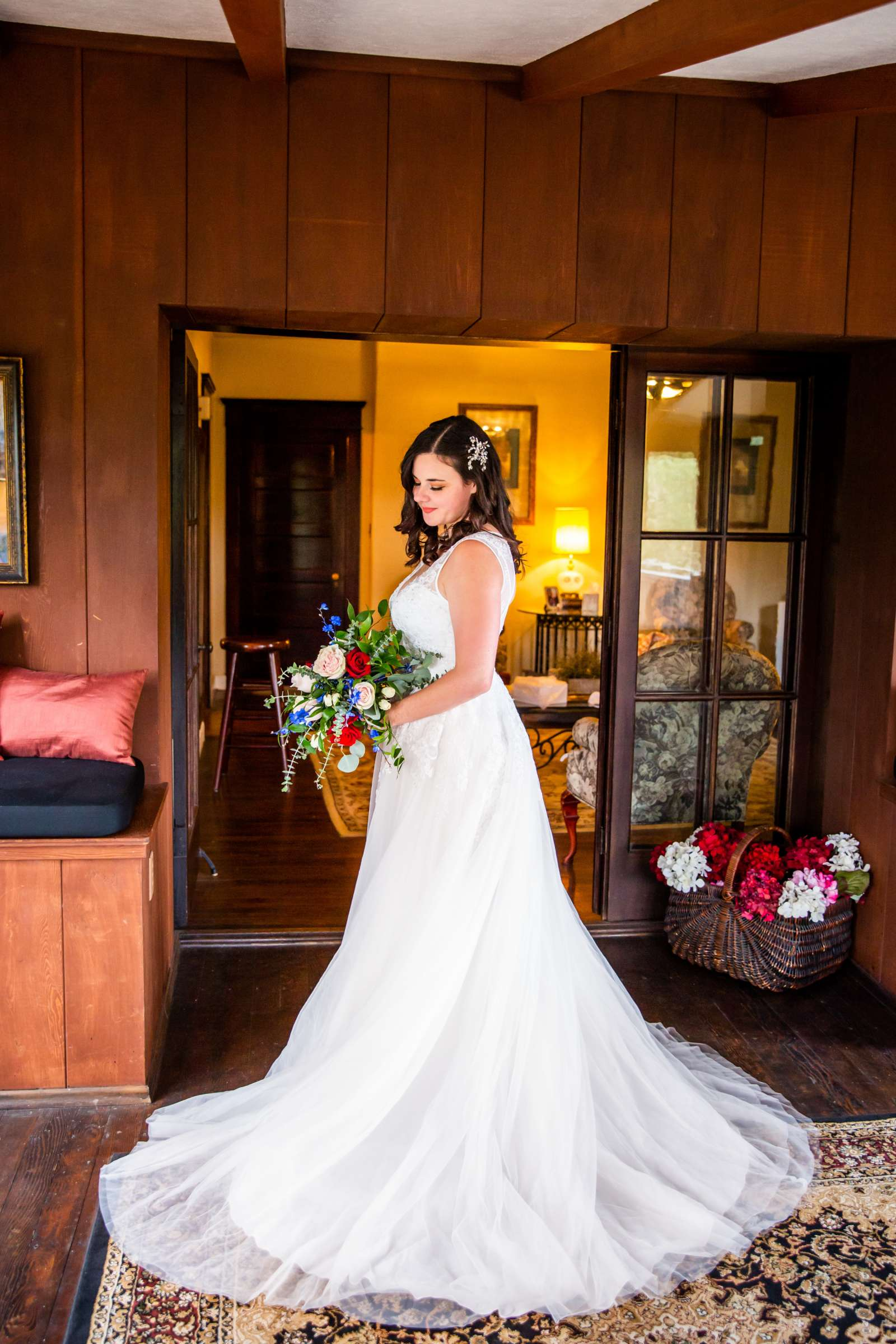 Mt Woodson Castle Wedding, Valerie and Ian Wedding Photo #43 by True Photography