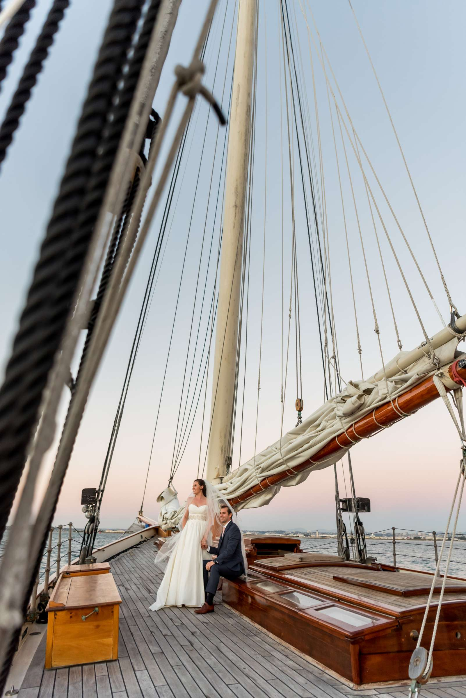 The America - Next Level Sailing Wedding, Tracy and Jarred Wedding Photo #11 by True Photography