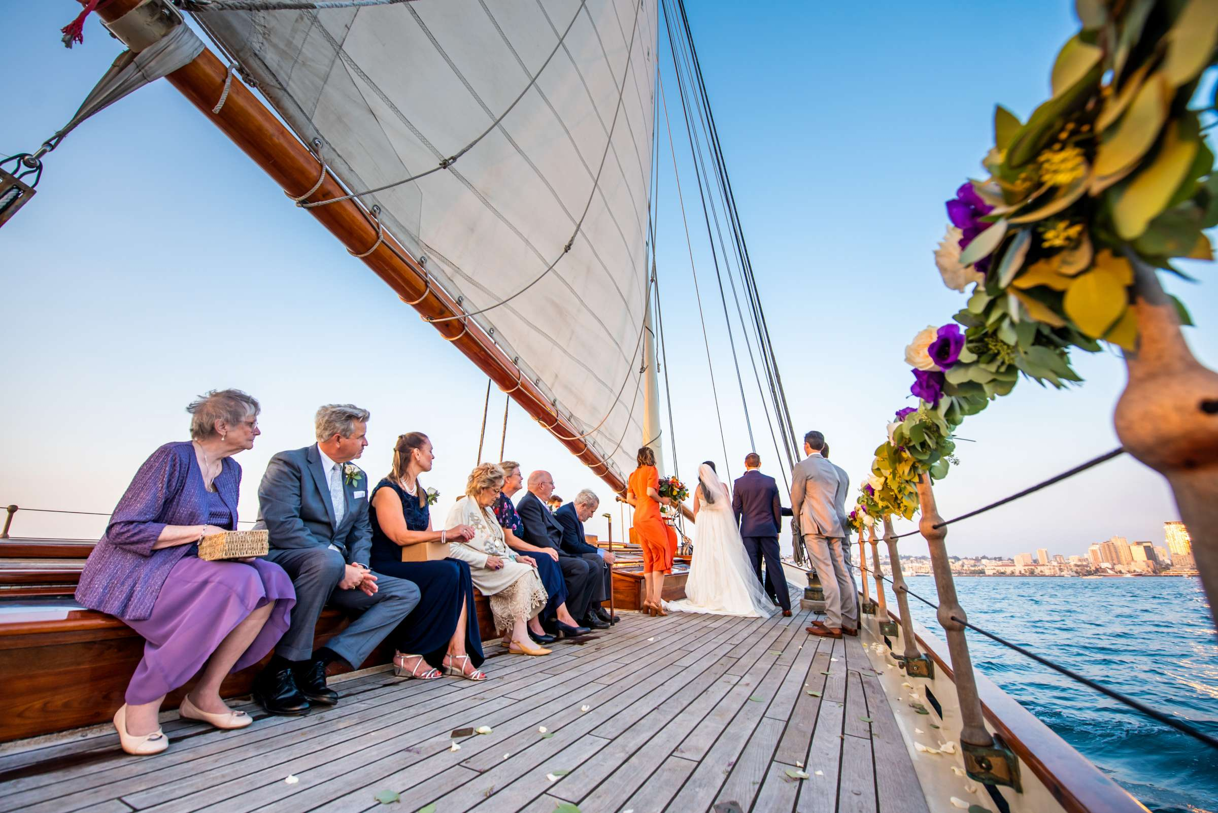 The America - Next Level Sailing Wedding, Tracy and Jarred Wedding Photo #34 by True Photography