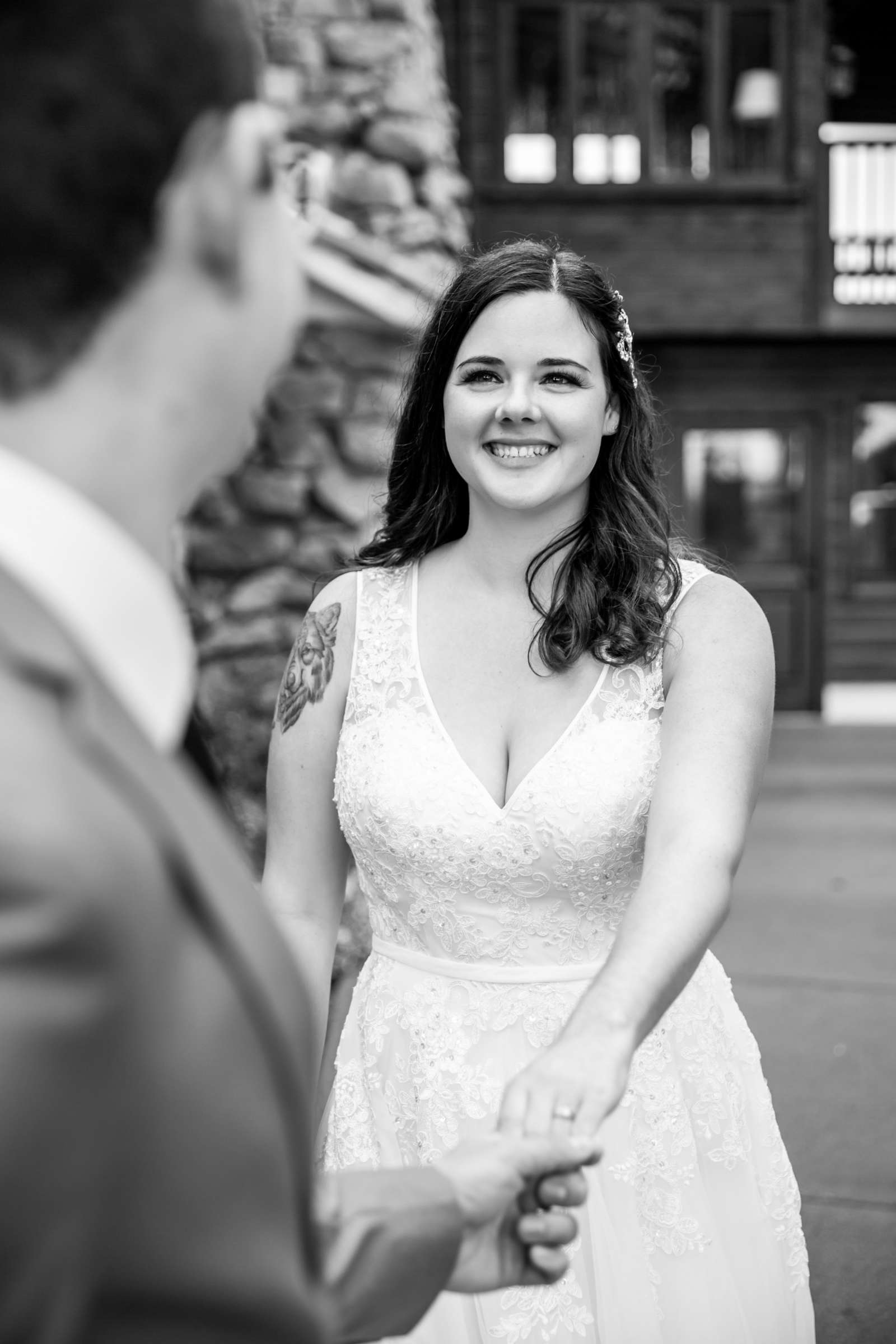 Mt Woodson Castle Wedding, Valerie and Ian Wedding Photo #27 by True Photography