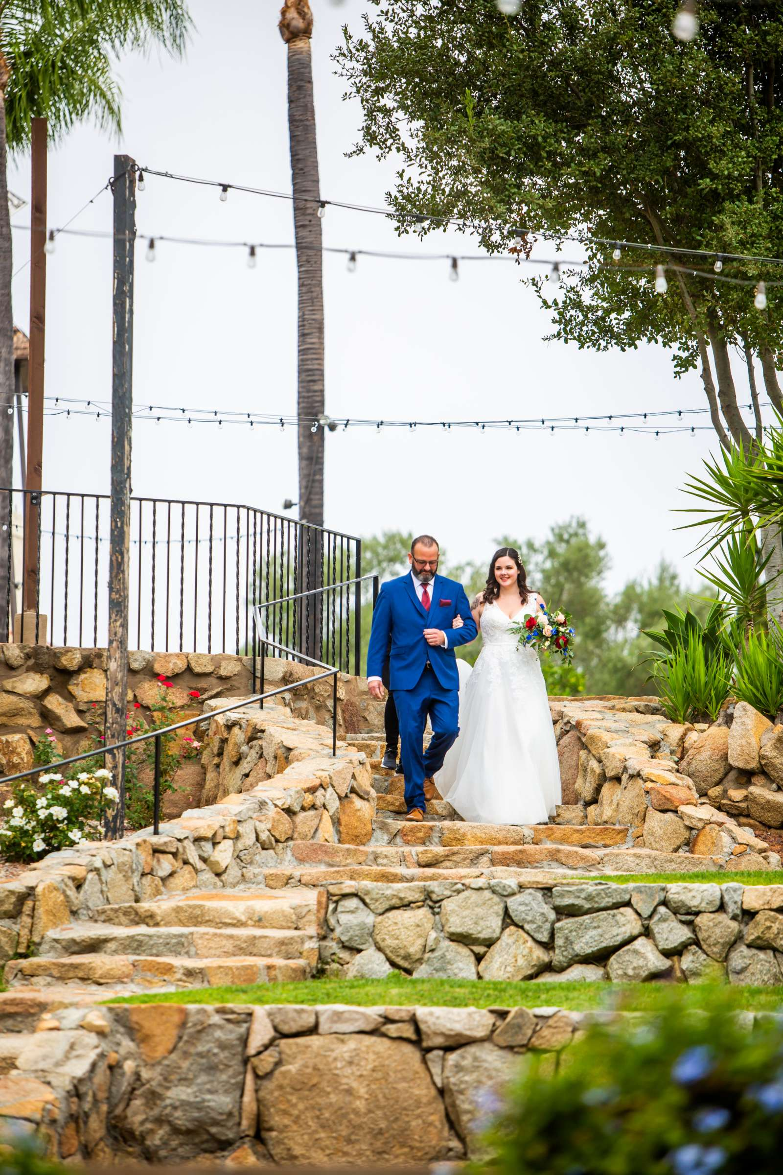 Mt Woodson Castle Wedding, Valerie and Ian Wedding Photo #55 by True Photography