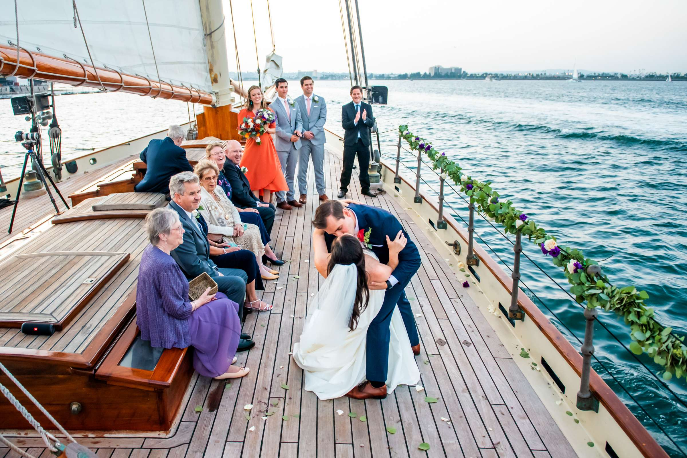 The America - Next Level Sailing Wedding, Tracy and Jarred Wedding Photo #3 by True Photography