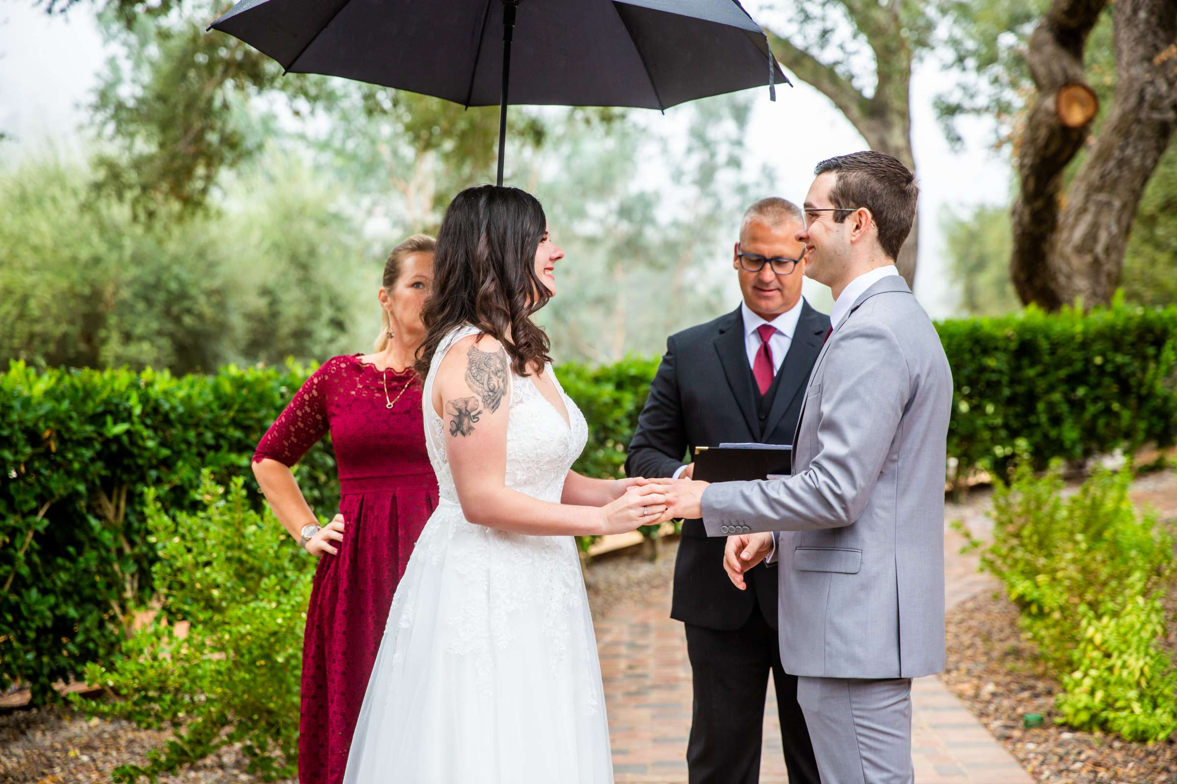 Mt Woodson Castle Wedding, Valerie and Ian Wedding Photo #70 by True Photography