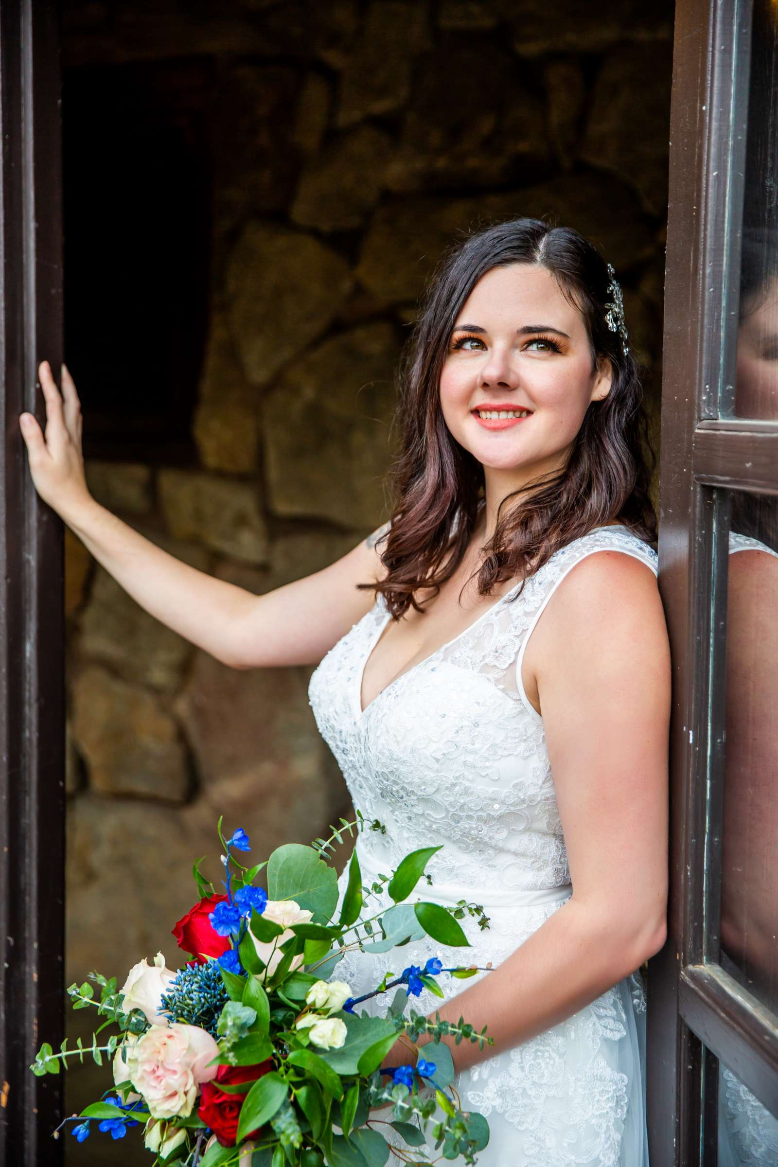 Mt Woodson Castle Wedding, Valerie and Ian Wedding Photo #29 by True Photography