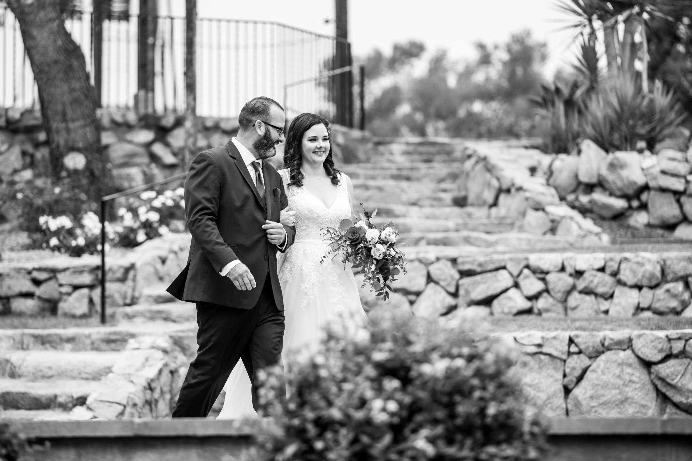 Mt Woodson Castle Wedding, Valerie and Ian Wedding Photo #57 by True Photography