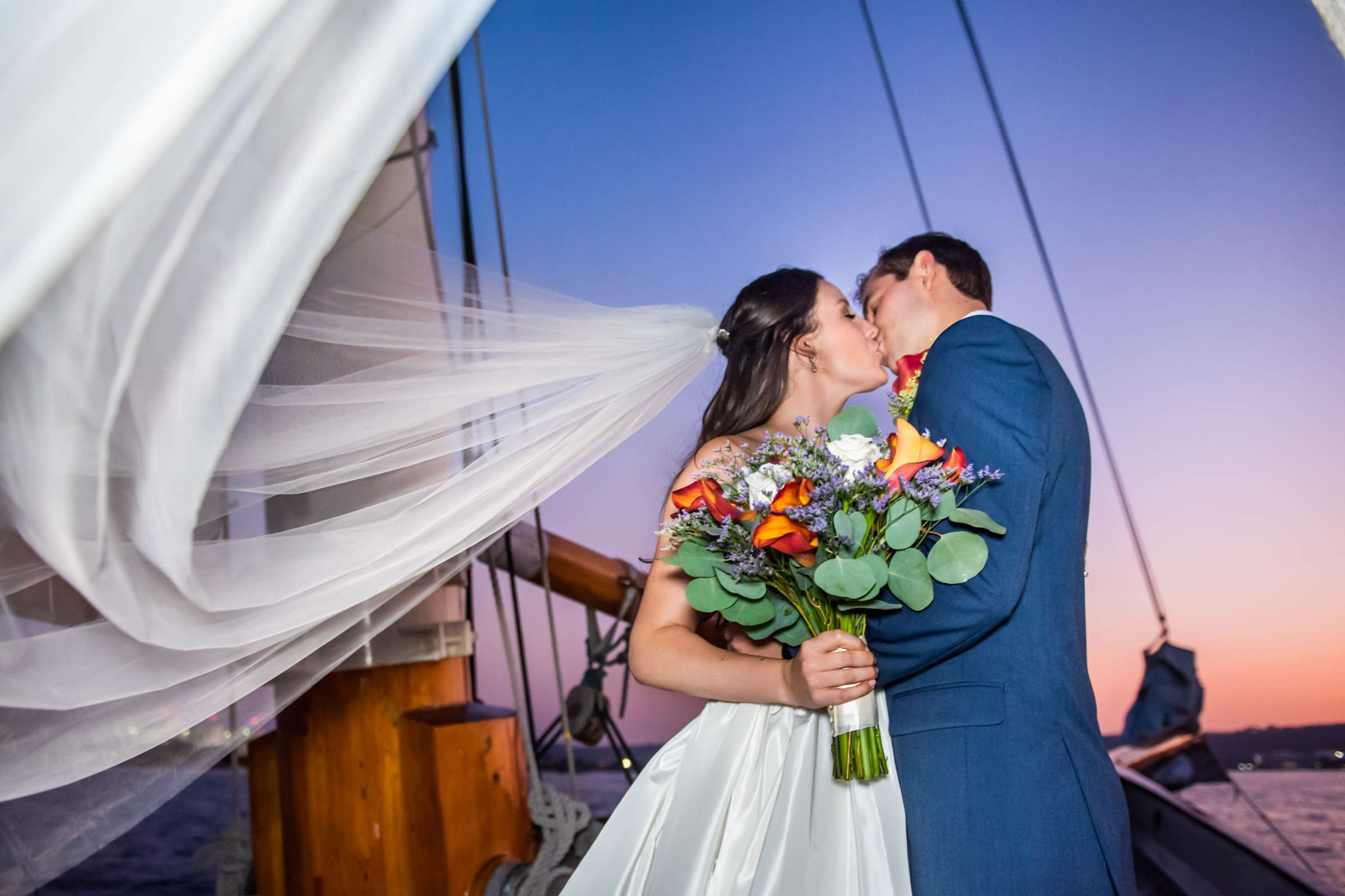 The America - Next Level Sailing Wedding, Tracy and Jarred Wedding Photo #8 by True Photography