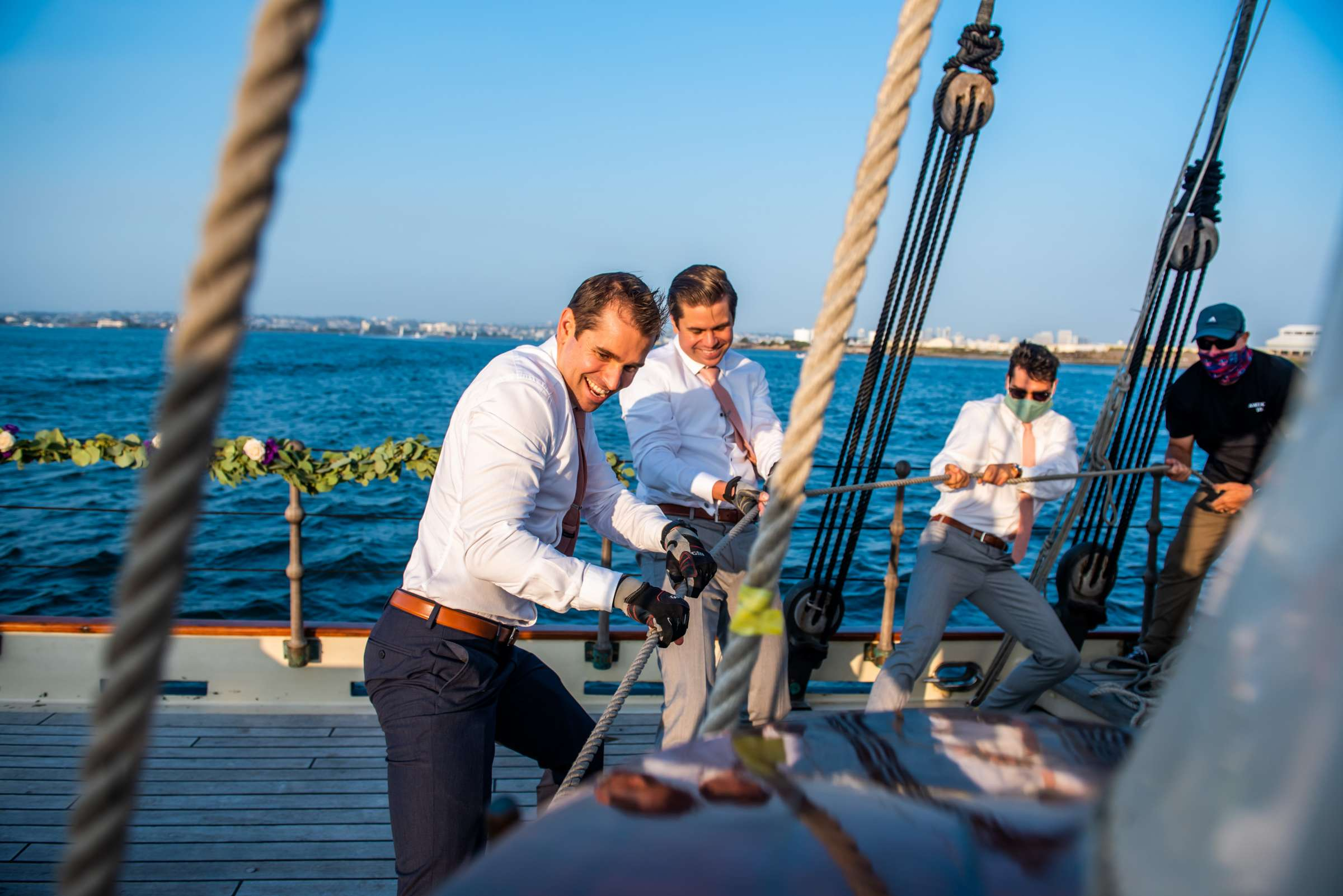 The America - Next Level Sailing Wedding, Tracy and Jarred Wedding Photo #6 by True Photography