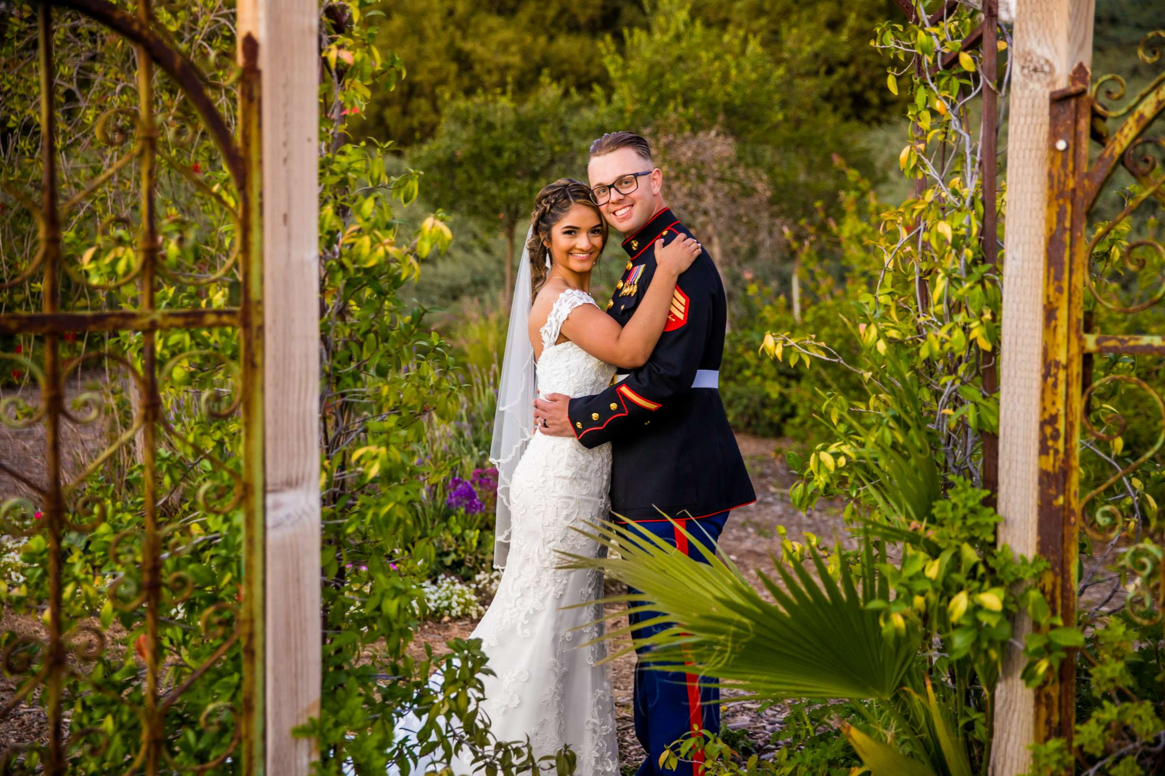 Ethereal Gardens Wedding, Danielle and Ben Wedding Photo #9 by True Photography