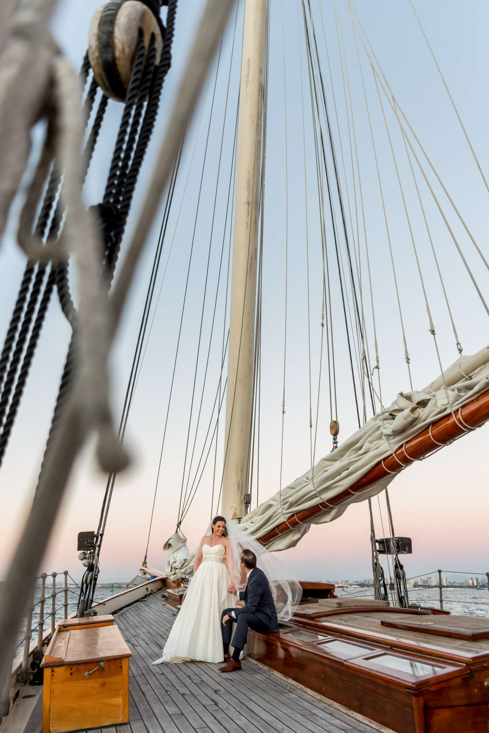 The America - Next Level Sailing Wedding, Tracy and Jarred Wedding Photo #27 by True Photography