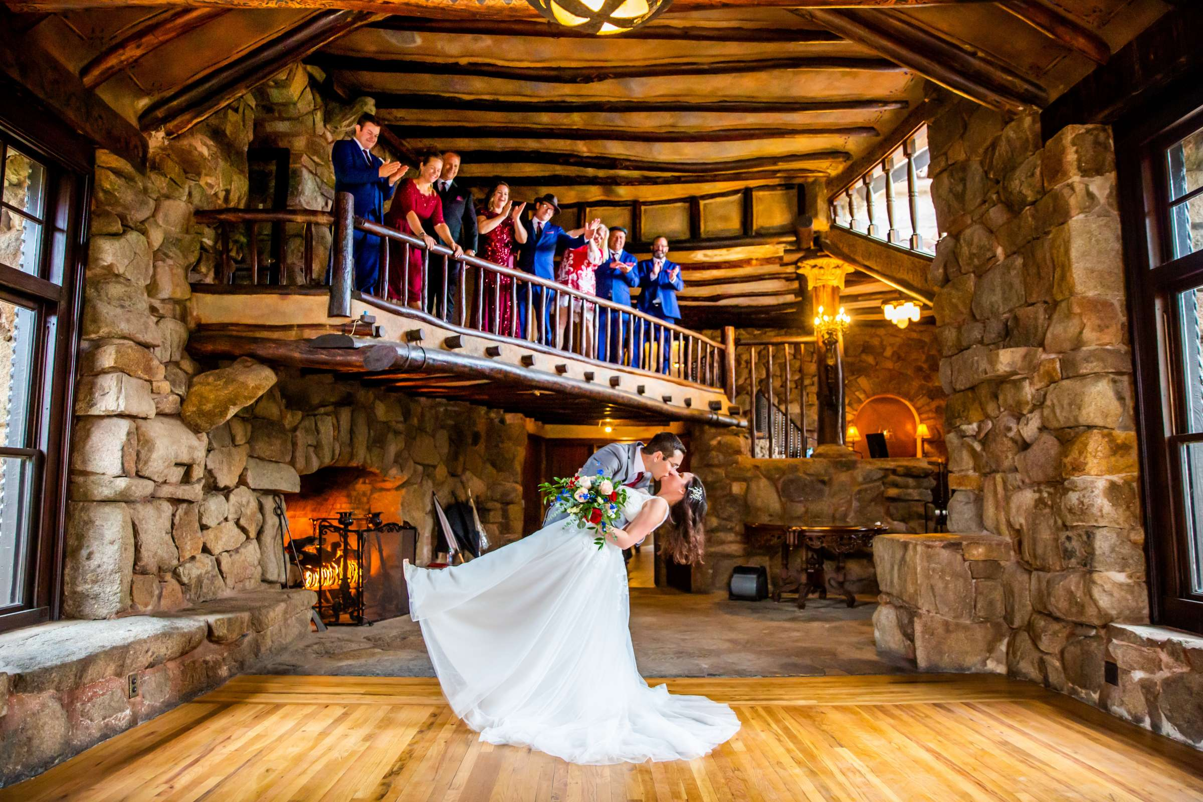 Mt Woodson Castle Wedding, Valerie and Ian Wedding Photo #13 by True Photography